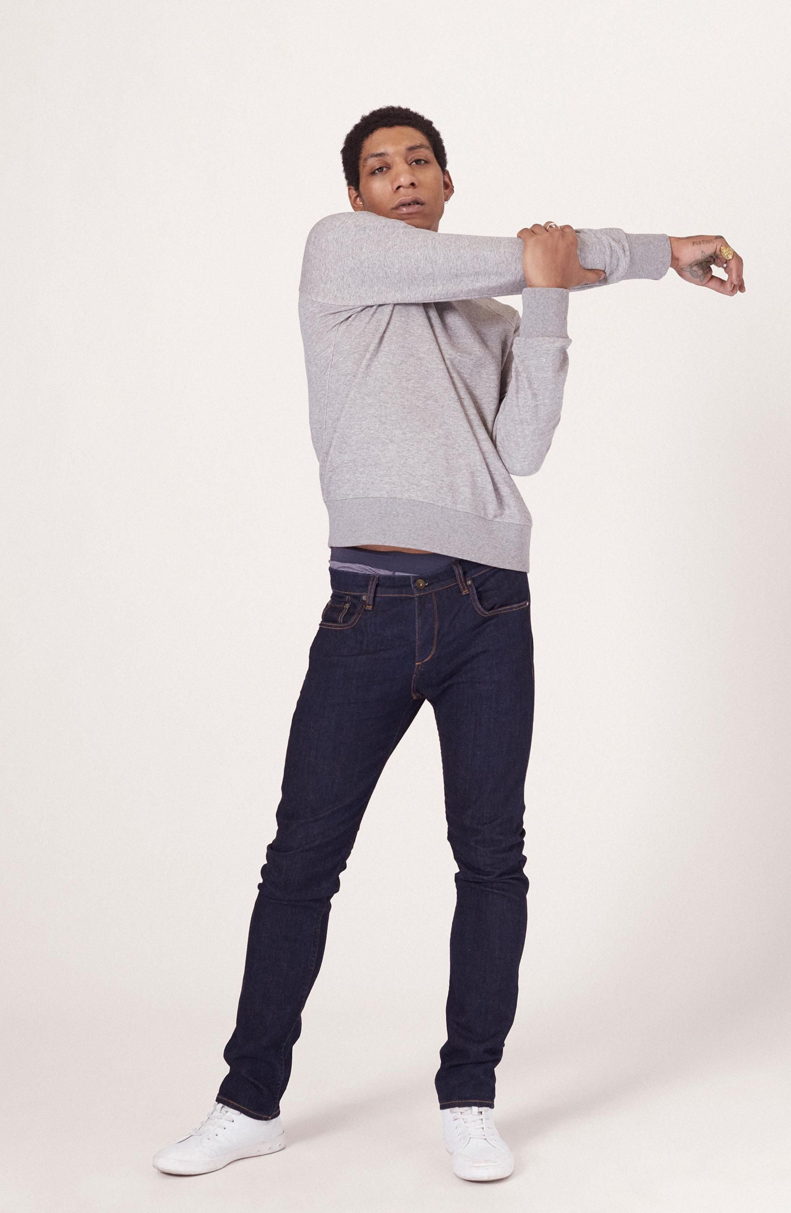 RAG & BONE, Standard Issue Fit 3 Slim Straight Leg Jeans, Alternate thumbnail 13, color, HERITAGE