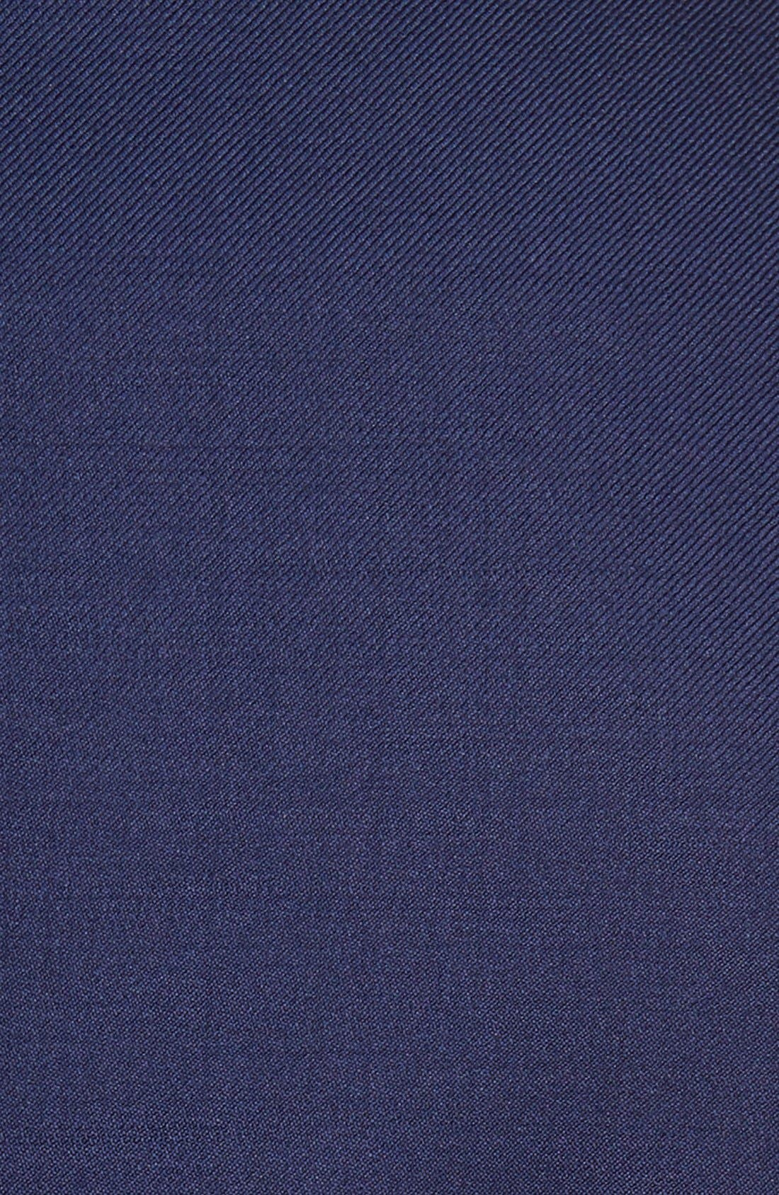 DAVID DONAHUE, 'Connor' Classic Fit Solid Wool Sport Coat, Alternate thumbnail 6, color, NAVY