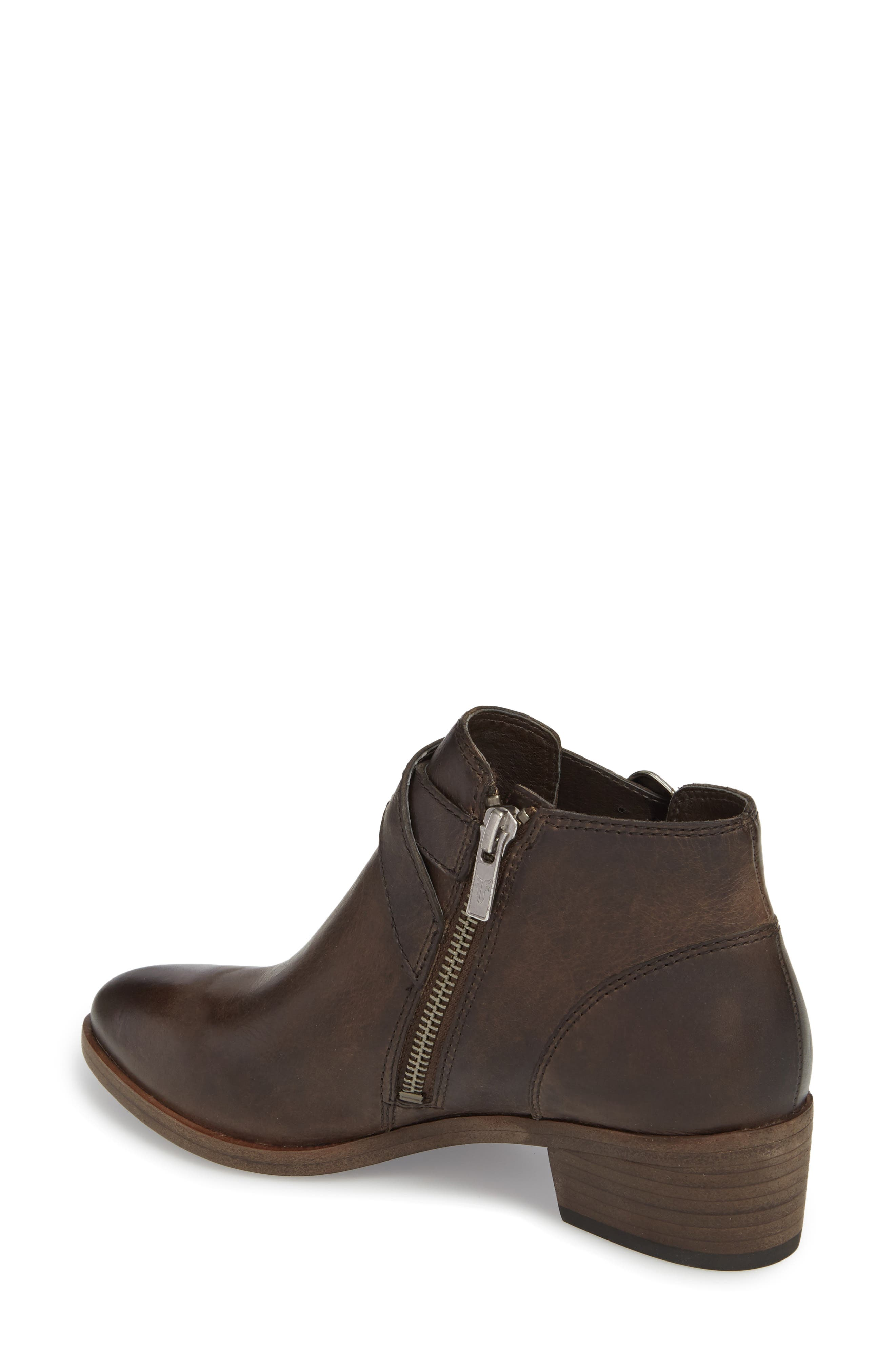 FRYE, Ray Western Bootie, Alternate thumbnail 2, color, SLATE LEATHER