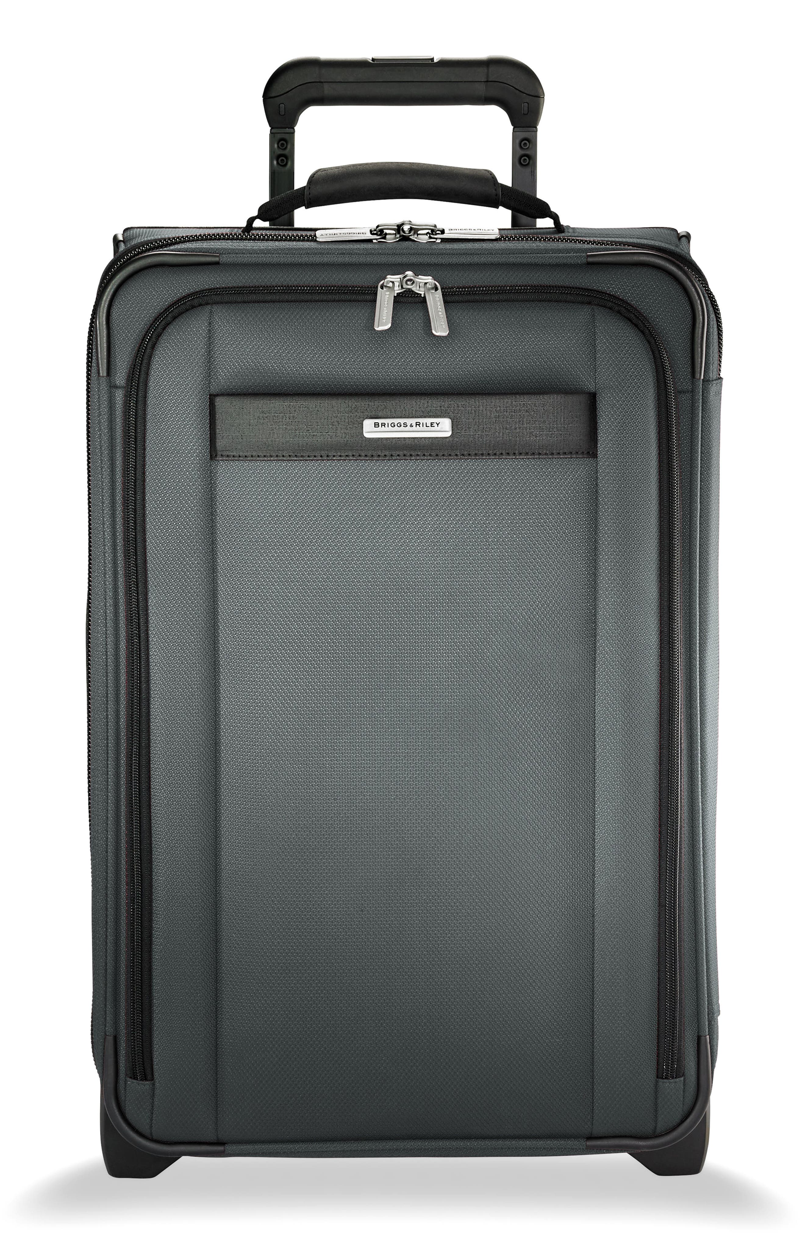 BRIGGS & RILEY Transcend 400 22-Inch Wheeled Carry-On, Main, color, SLATE GREY