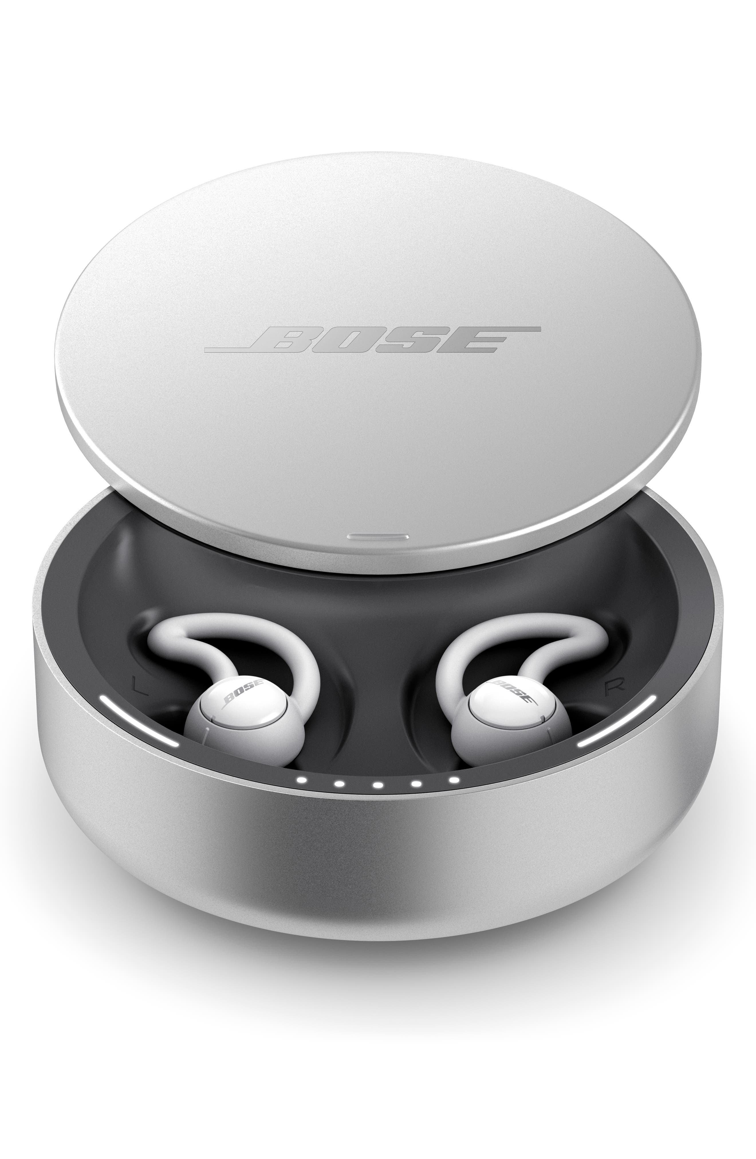 BOSE<SUP>®</SUP>, Noise Masking Sleepbuds, Alternate thumbnail 5, color, WHITE AND SILVER