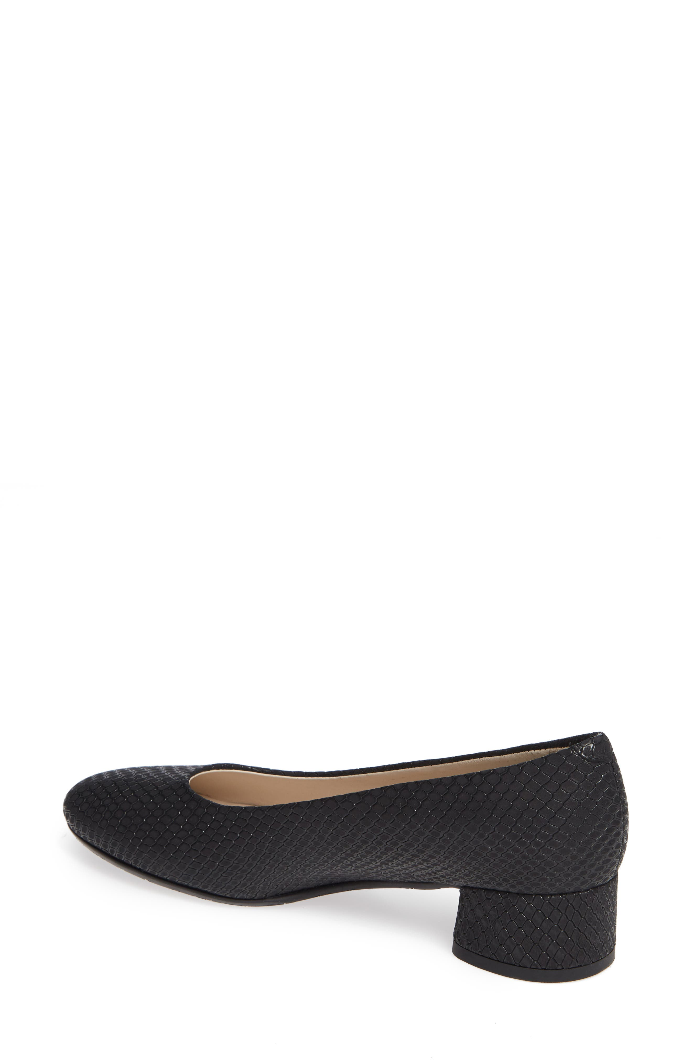 AMALFI BY RANGONI, Record Pump, Alternate thumbnail 2, color, BLACK OXIDE SUEDE