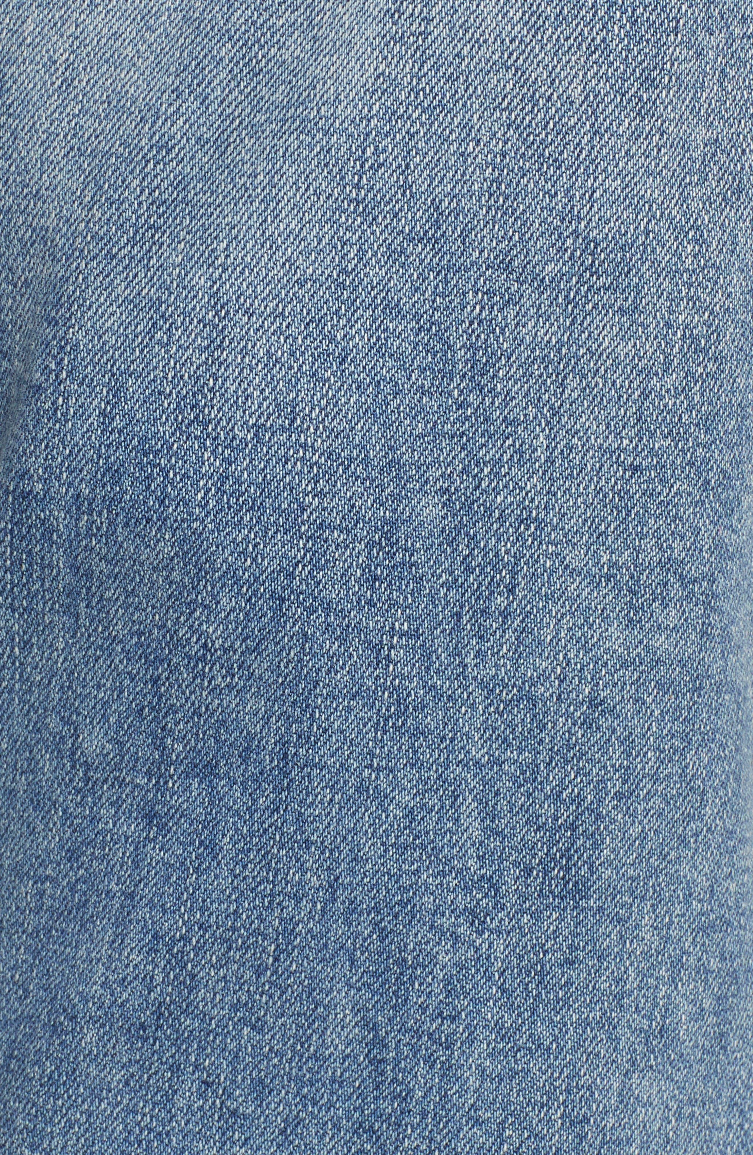 CITIZENS OF HUMANITY, Emerson Crop Slim Fit Boyfriend Jeans, Alternate thumbnail 6, color, MARINA
