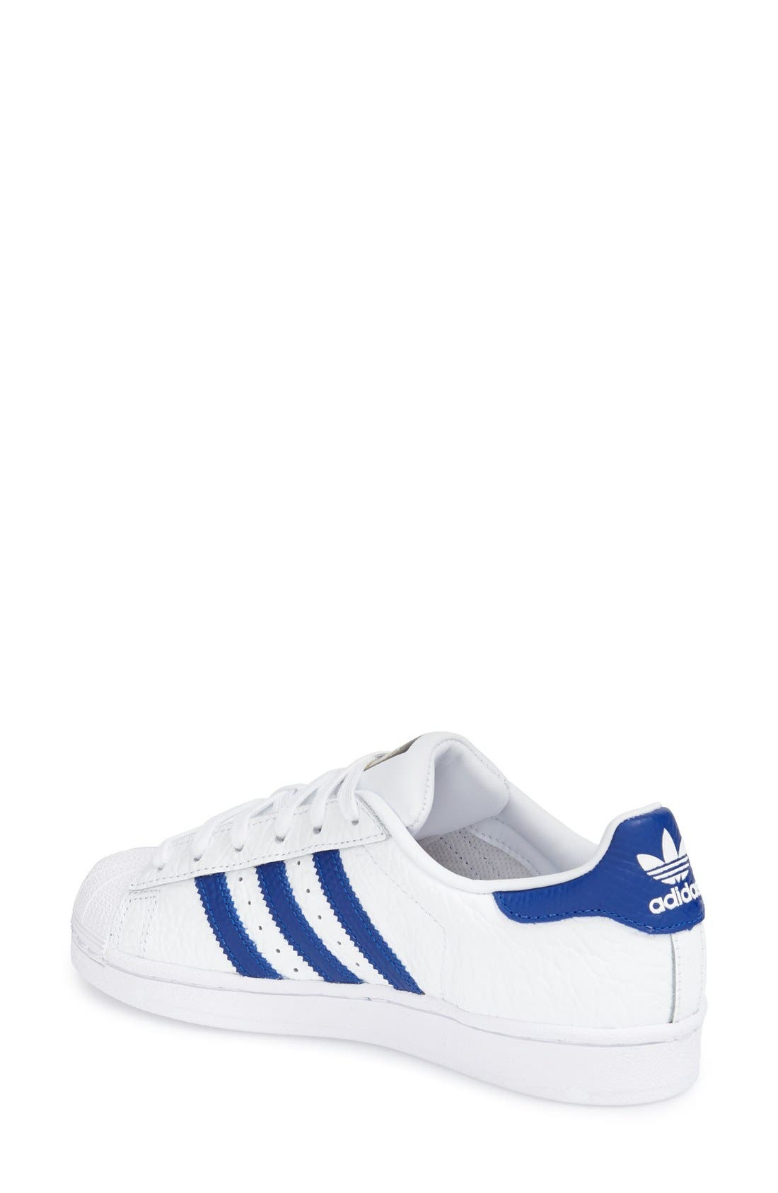 ADIDAS, 'Superstar' Sneaker, Alternate thumbnail 3, color, 106