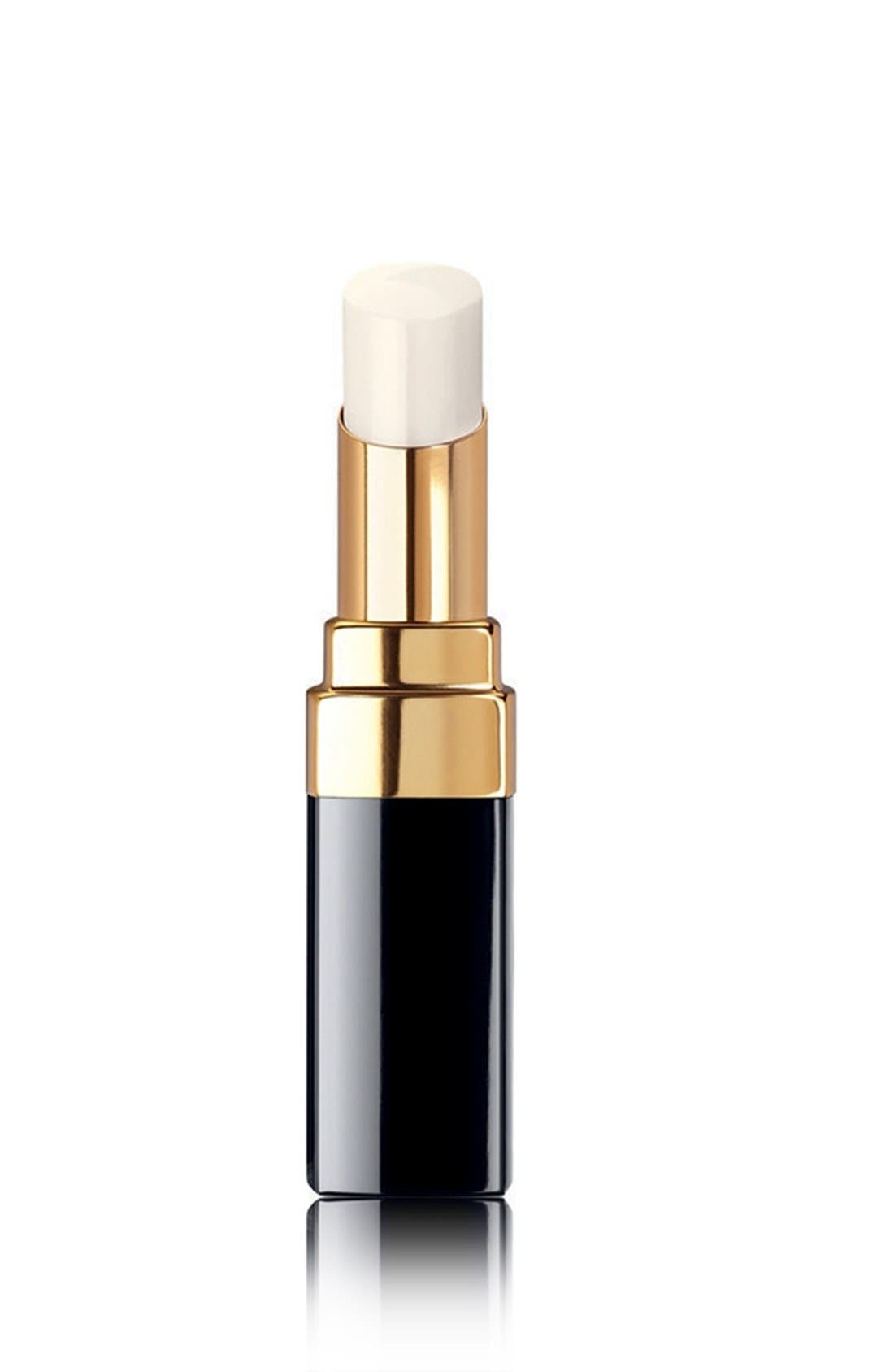 CHANEL, ROUGE COCO BAUME<br />Hydrating Conditioning Lip Balm, Main thumbnail 1, color, TRANSLUCENT