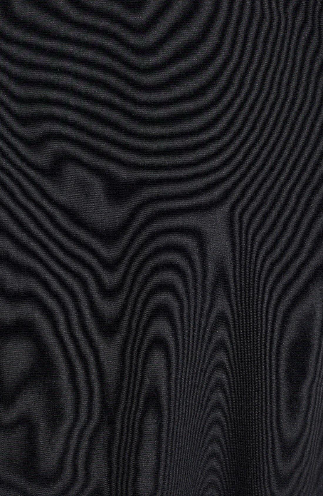 LONDON FOG, Long Trench Coat with Detachable Hood & Liner, Alternate thumbnail 9, color, BLACK