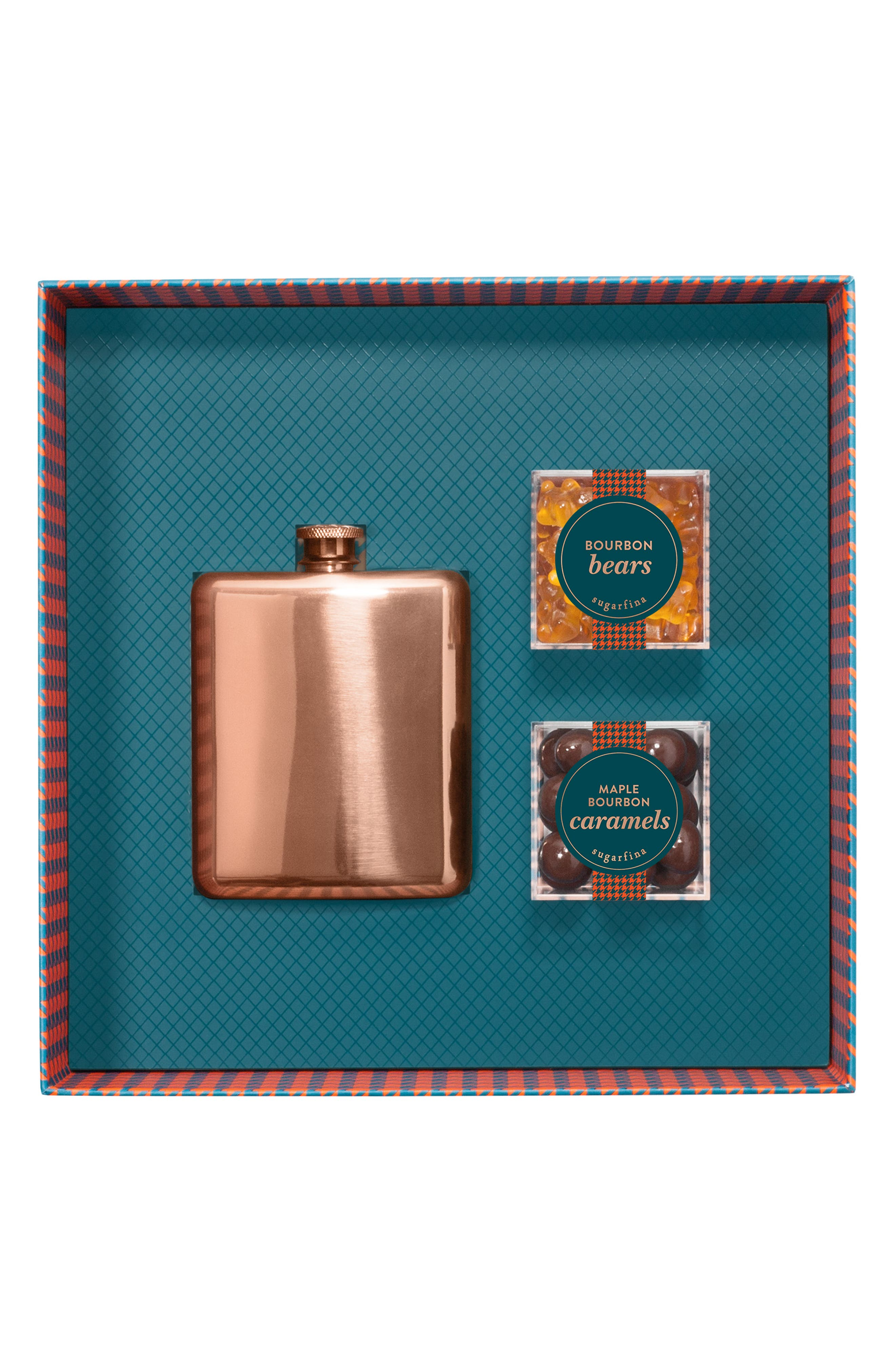 SUGARFINA, Vice 2.0 Flask & Candy Gift Set, Alternate thumbnail 3, color, BLUE
