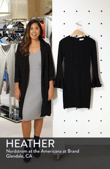 Pavillion Bell Cuff Sheath Dress, sales video thumbnail