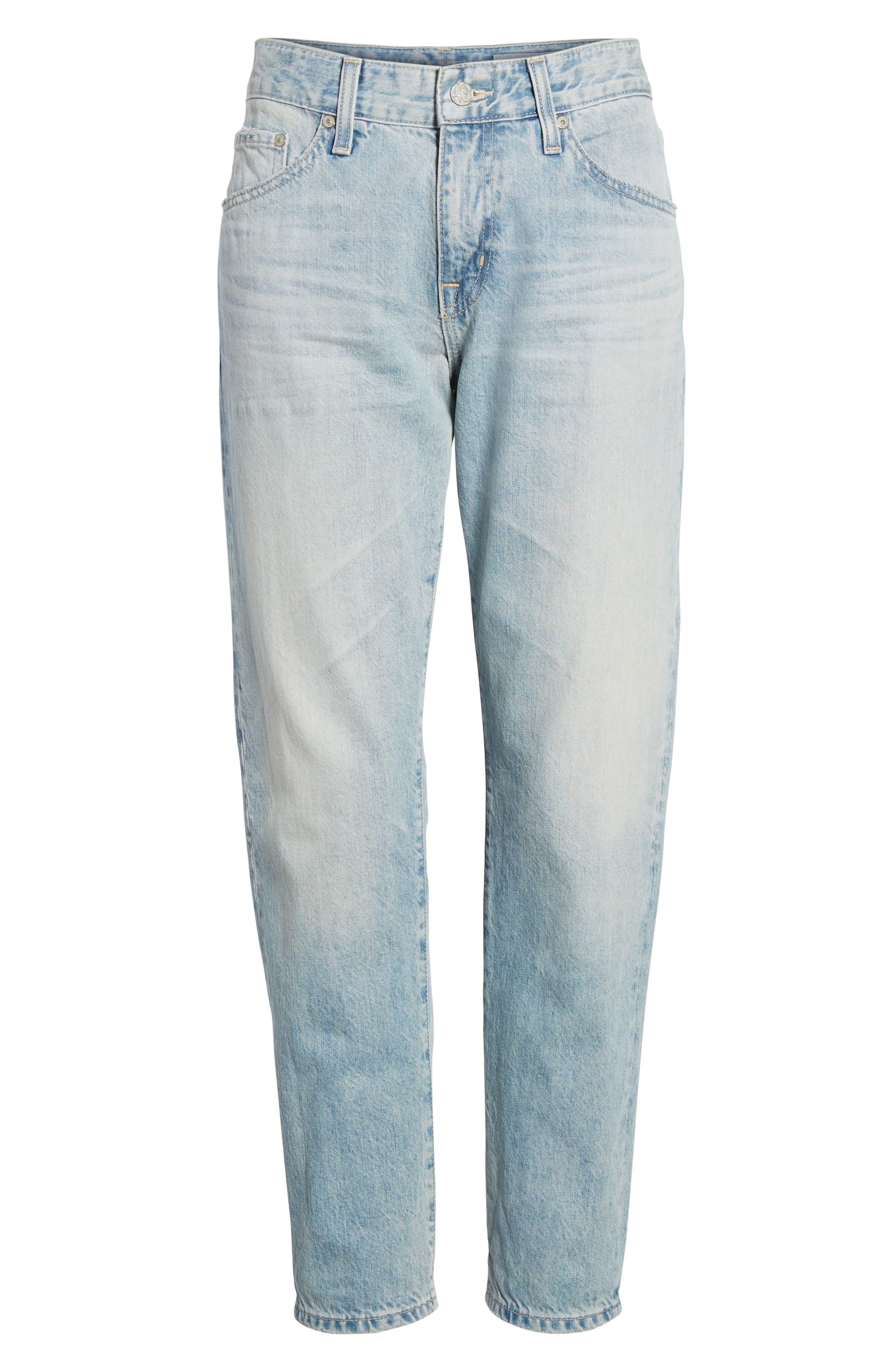 AG, 'The Ex Boyfriend' Slim Jeans, Alternate thumbnail 7, color, 469