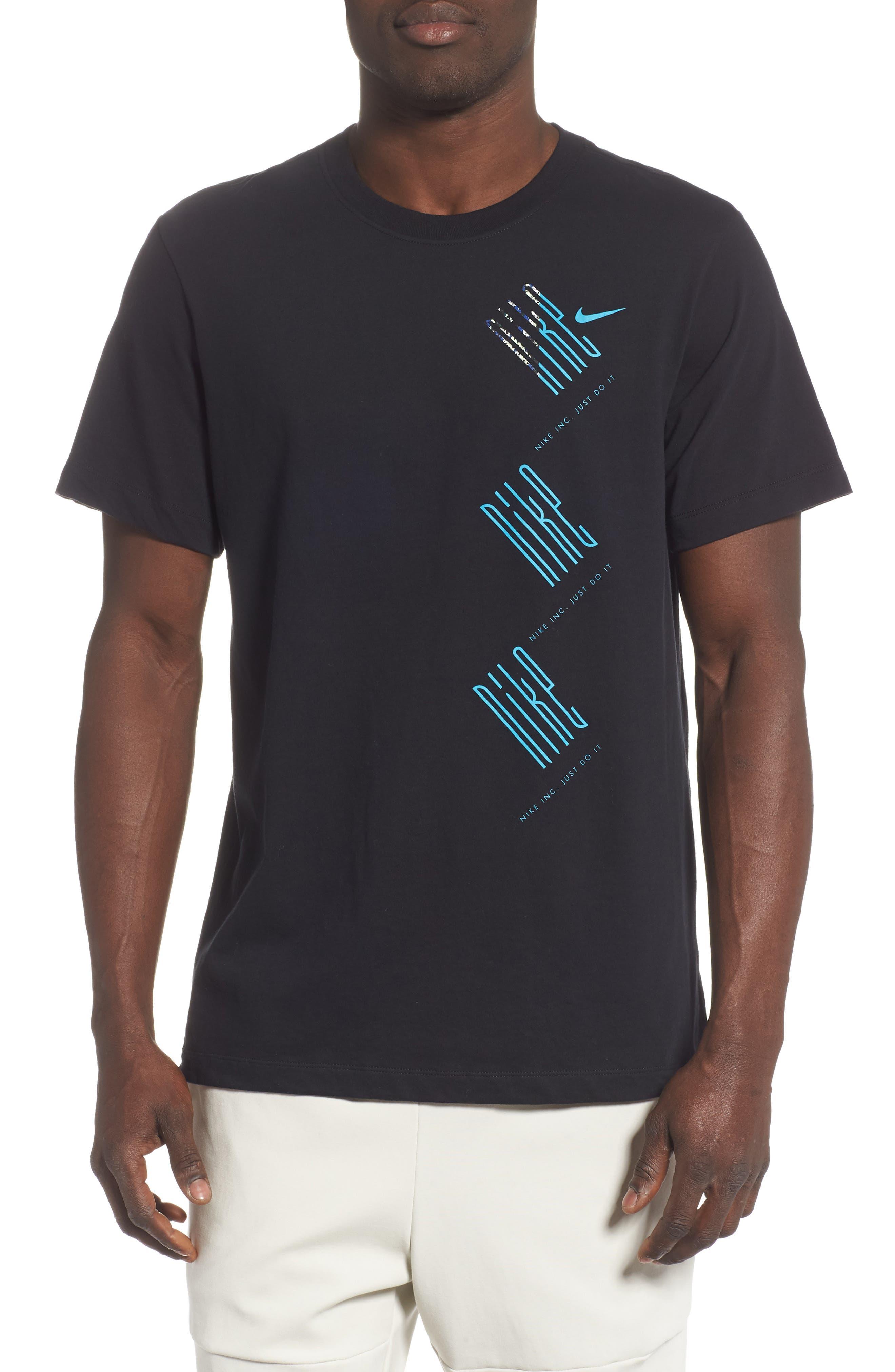 Nike Dry Wild Run T-Shirt Black