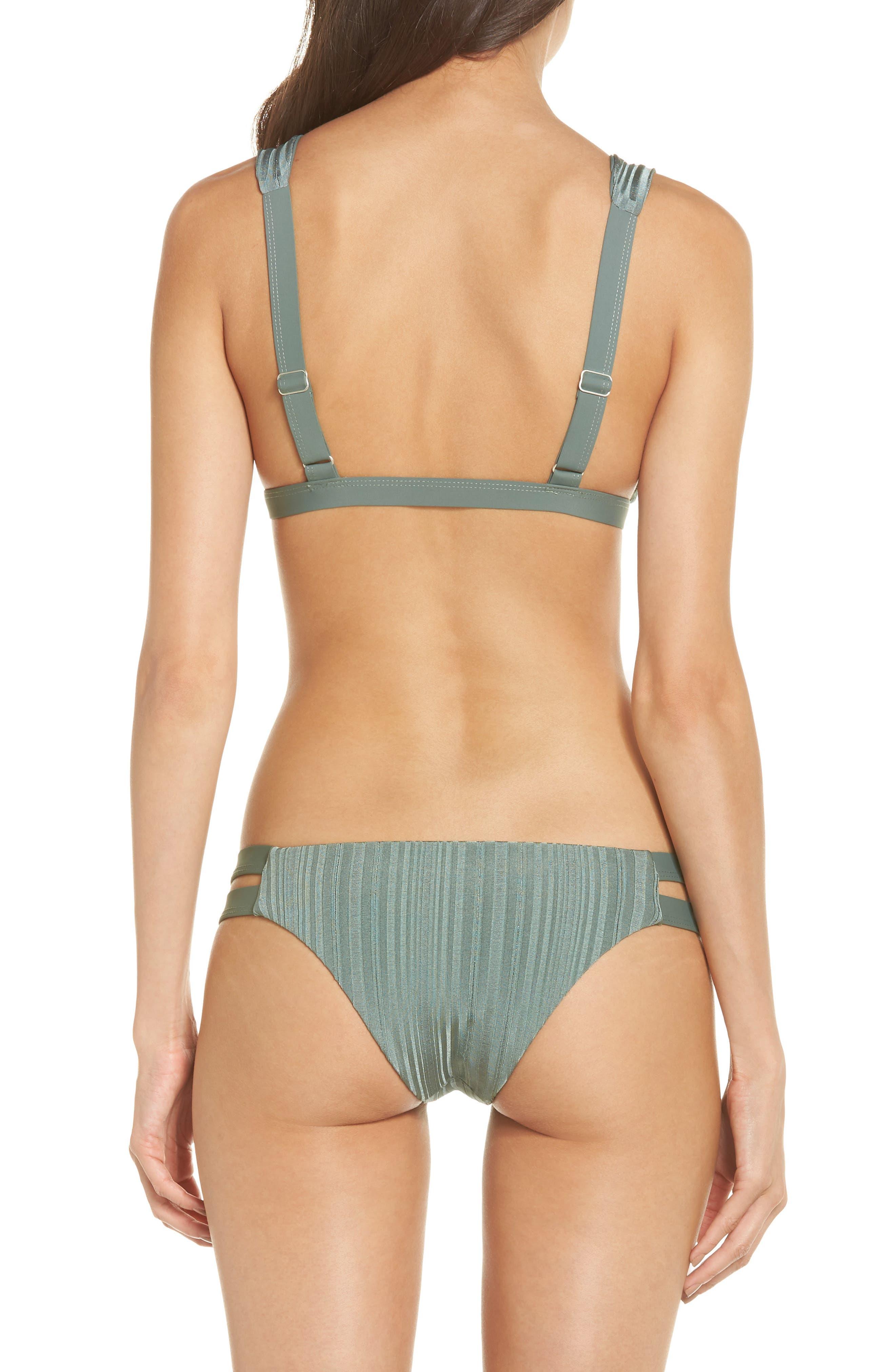 TAVIK, Caroline Bikini Top, Alternate thumbnail 9, color, MEADOW GREEN