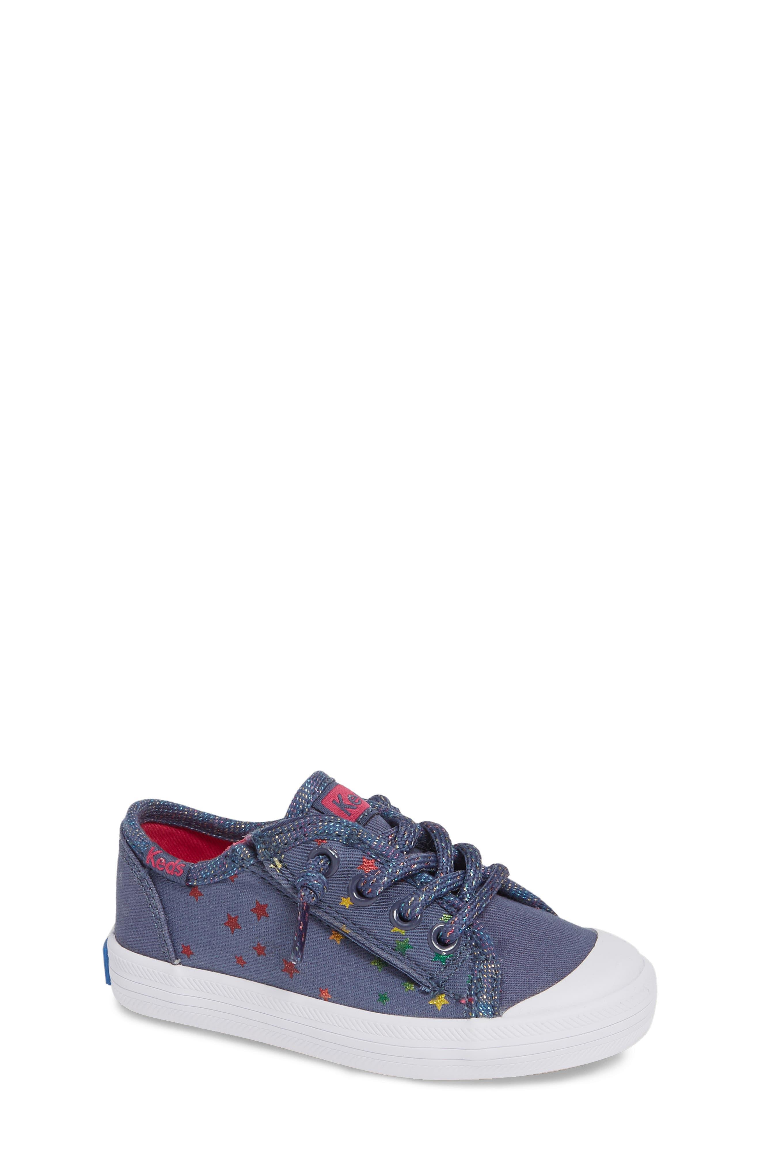 KEDS<SUP>®</SUP> Kickstart Cap Toe Sneaker, Main, color, STAR PERF
