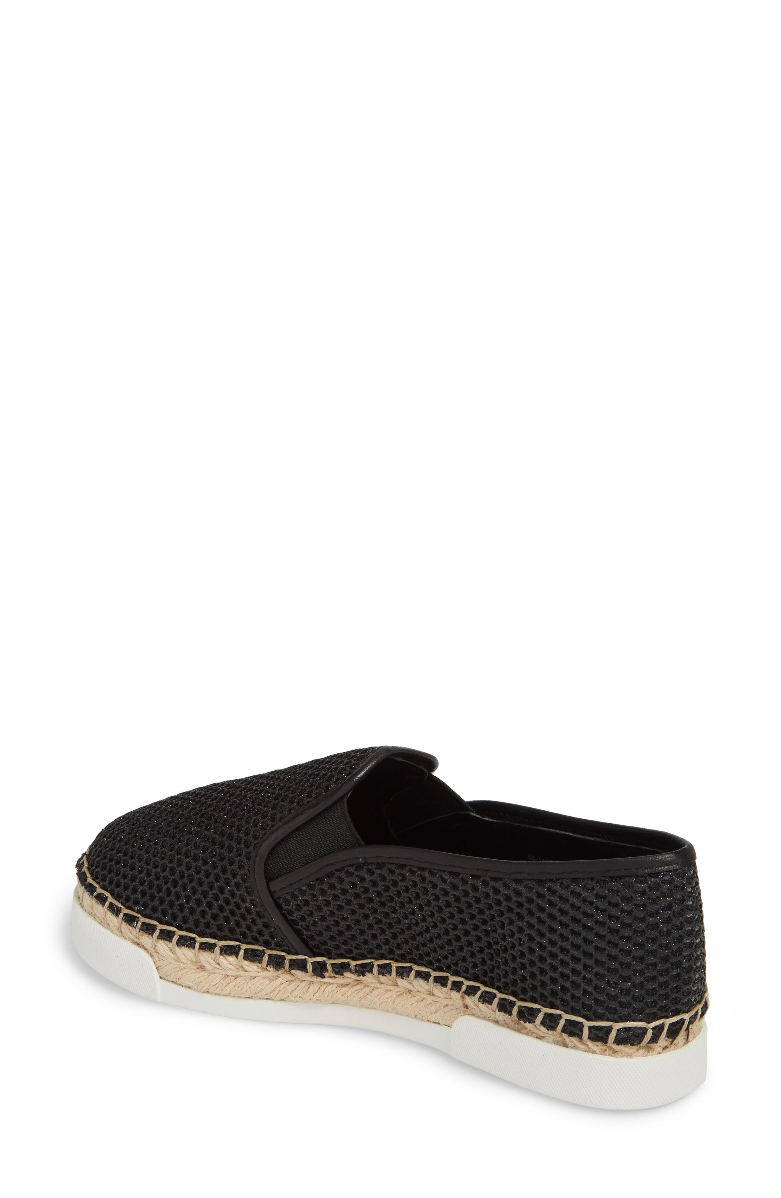VINCE CAMUTO, Tambie Slip-On Sneaker, Alternate thumbnail 2, color, 001