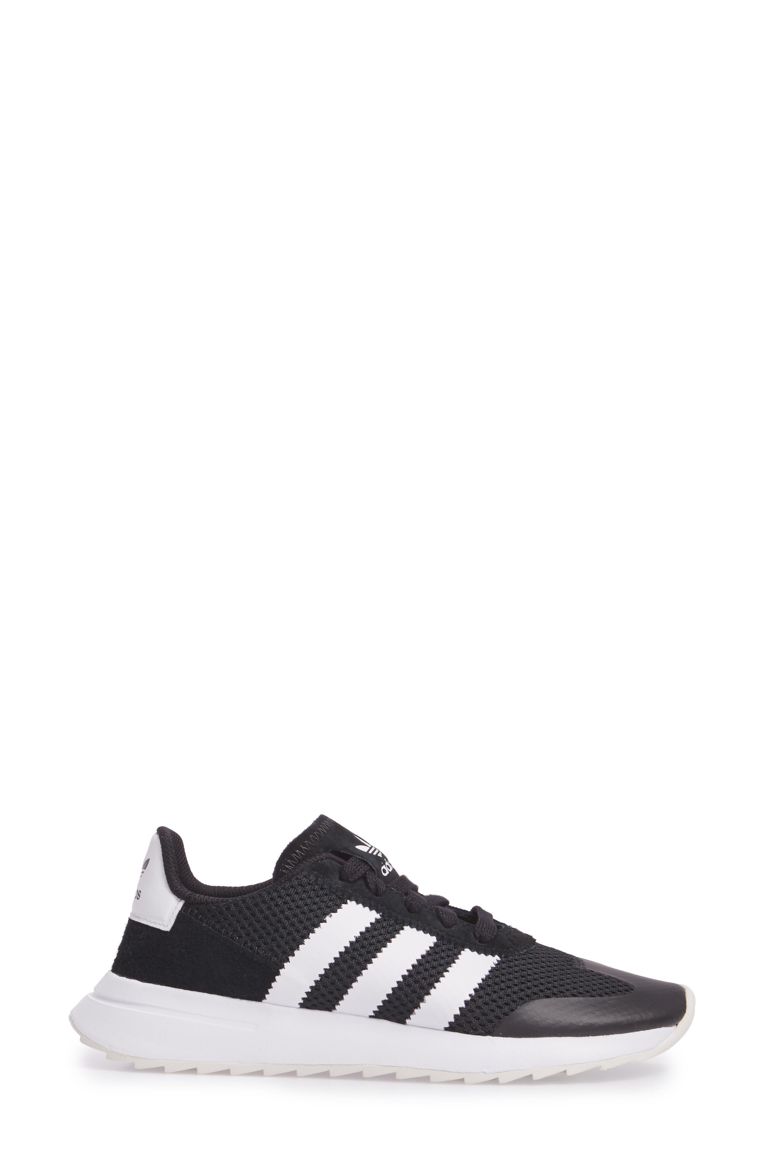 ADIDAS, Flashback Sneaker, Alternate thumbnail 3, color, 001