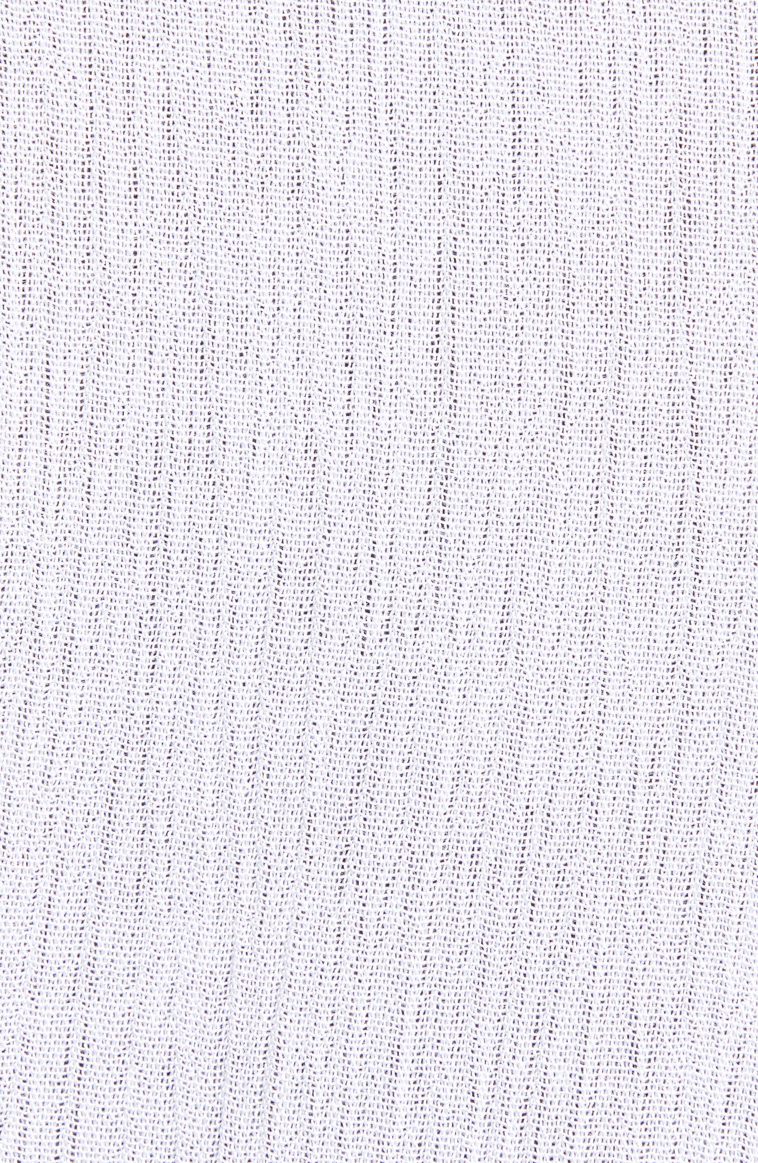 TREASURE & BOND, Shimmer Duster, Alternate thumbnail 6, color, WHITE