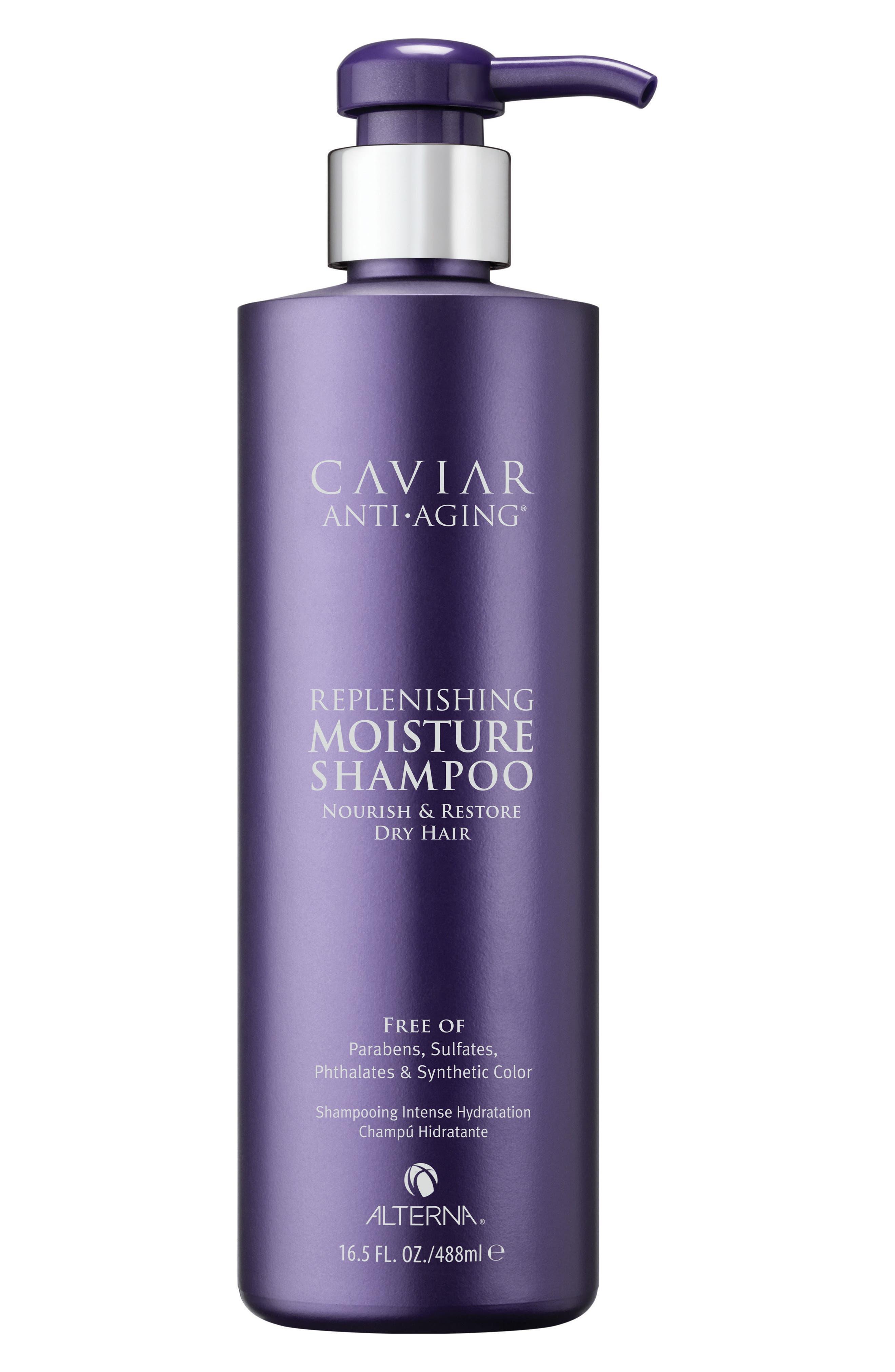 ALTERNA<SUP>®</SUP>, Caviar Anti-Aging Replenishing Moisture Shampoo, Alternate thumbnail 2, color, NO COLOR