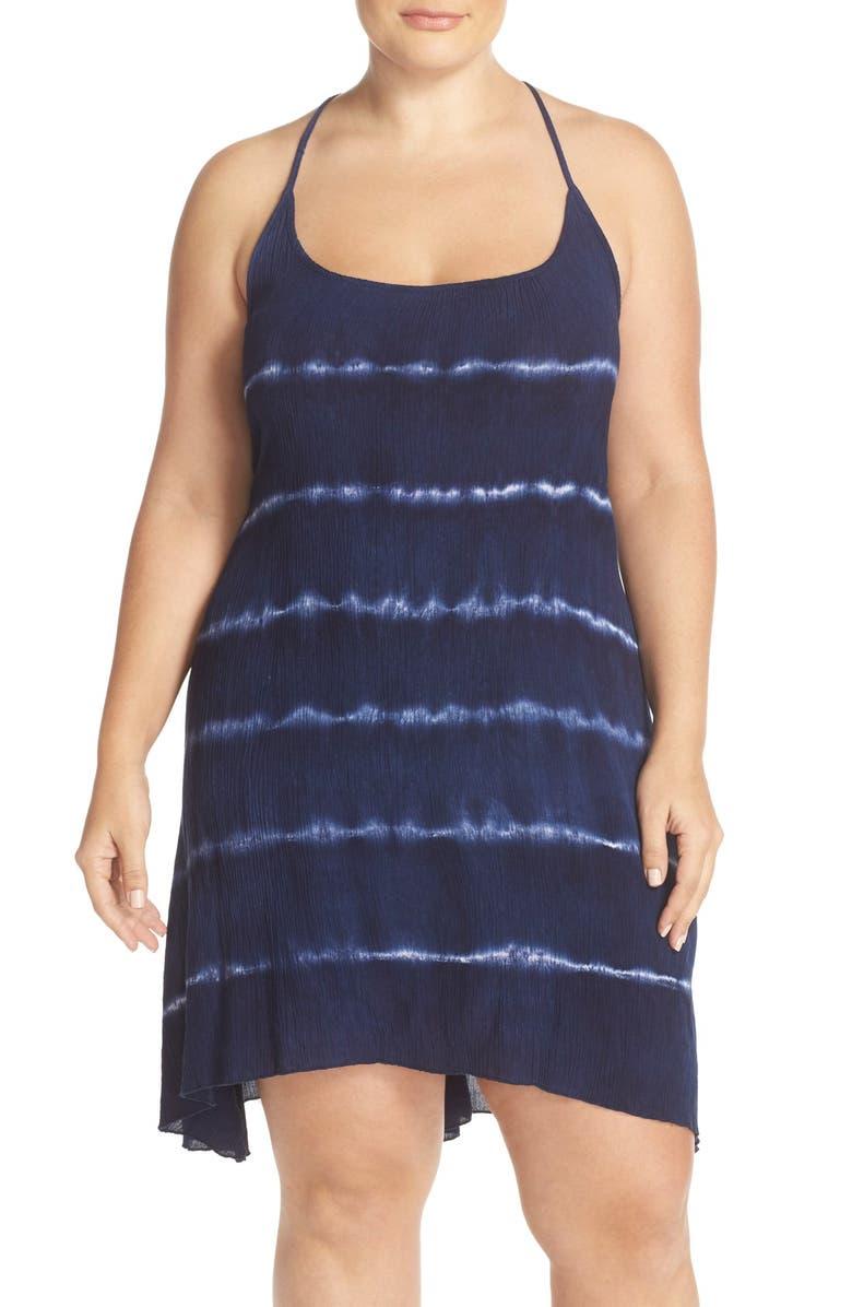 41c6437717 Elan Shibori Cover-Up Slipdress (Plus Size) | Nordstrom