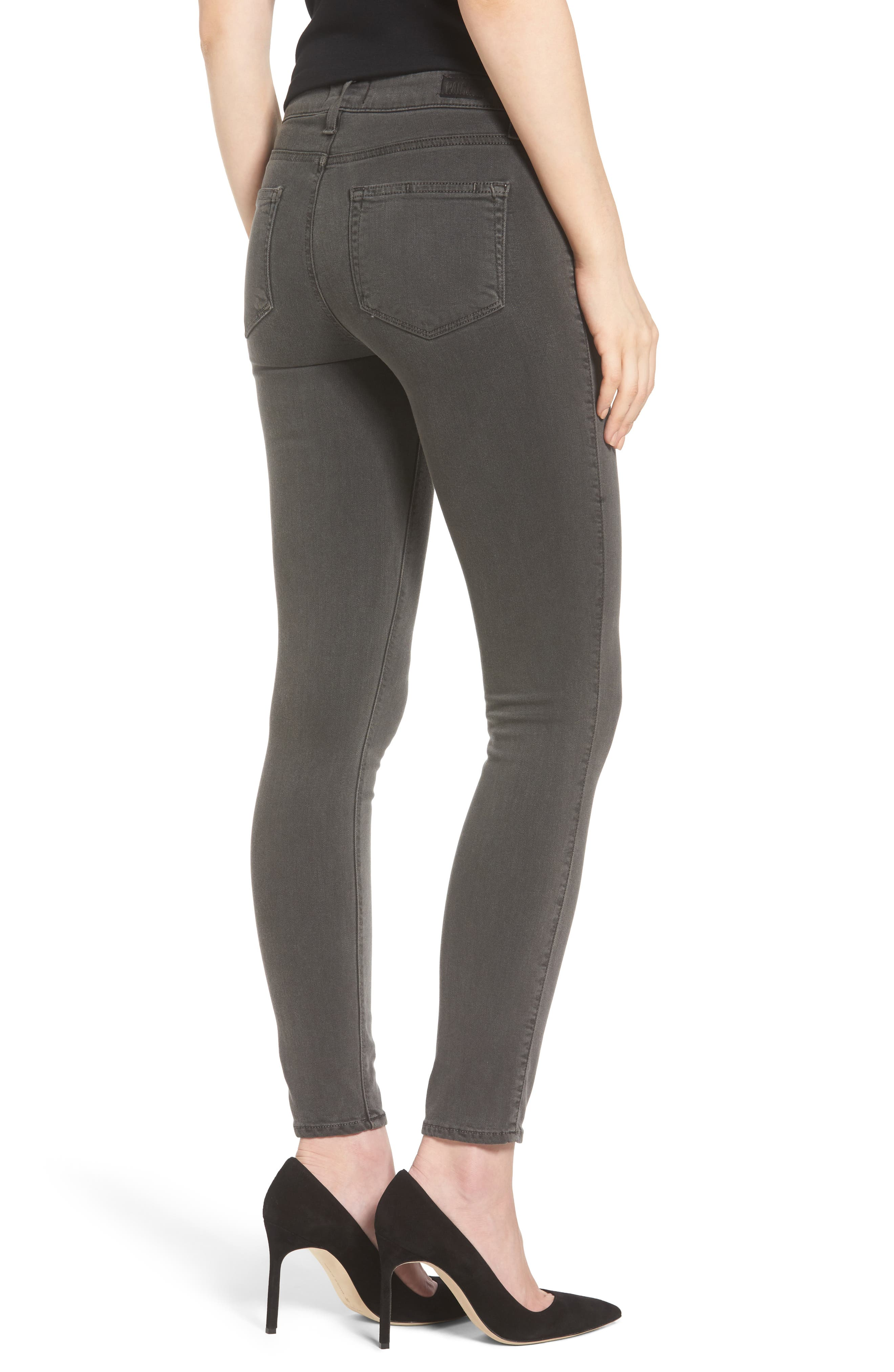 PAIGE, Transcend - Verdugo Ankle Skinny Jeans, Alternate thumbnail 2, color, 021