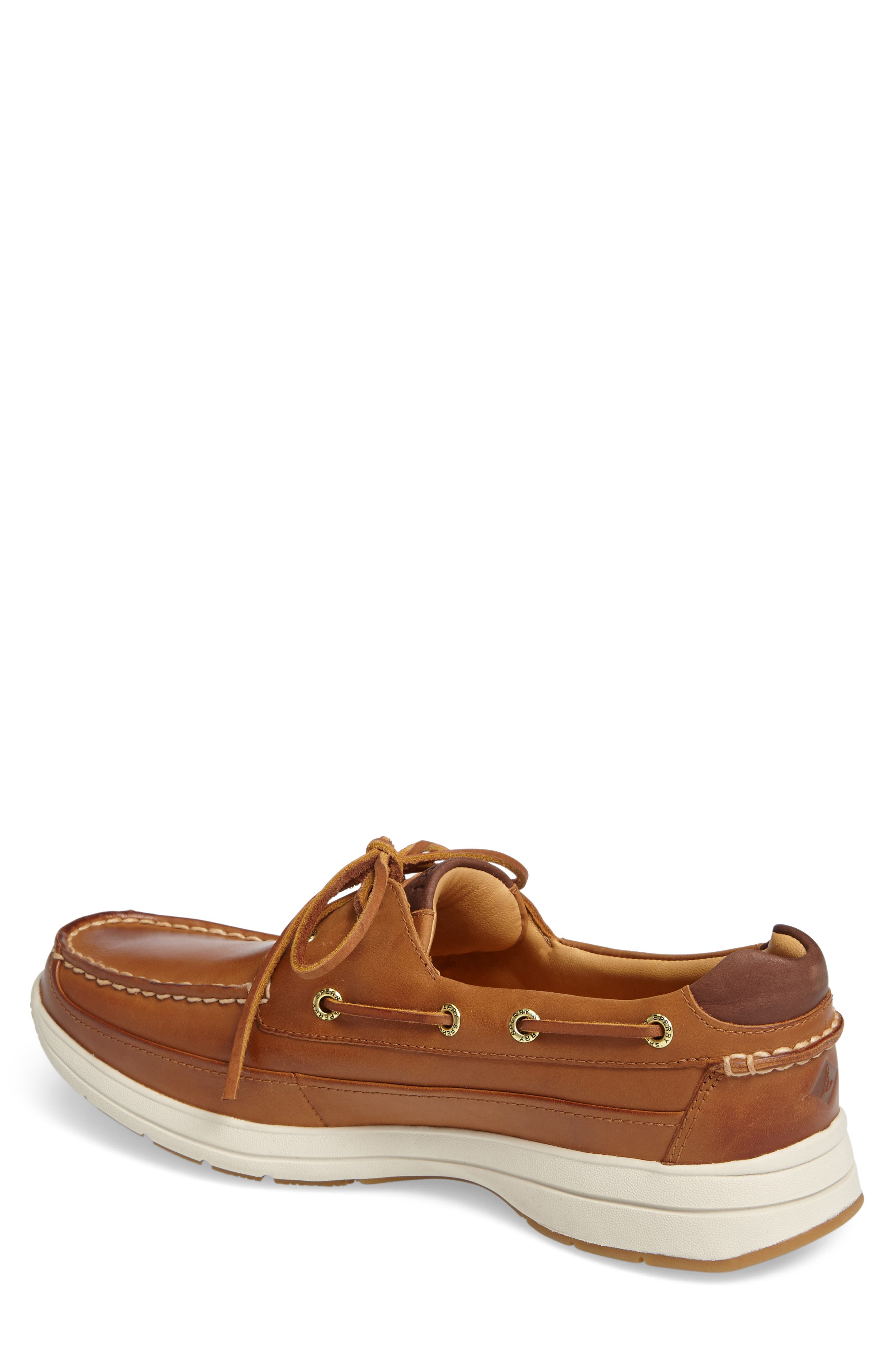 SPERRY, Gold Cup Ultralite Boat Shoe, Alternate thumbnail 2, color, TAN