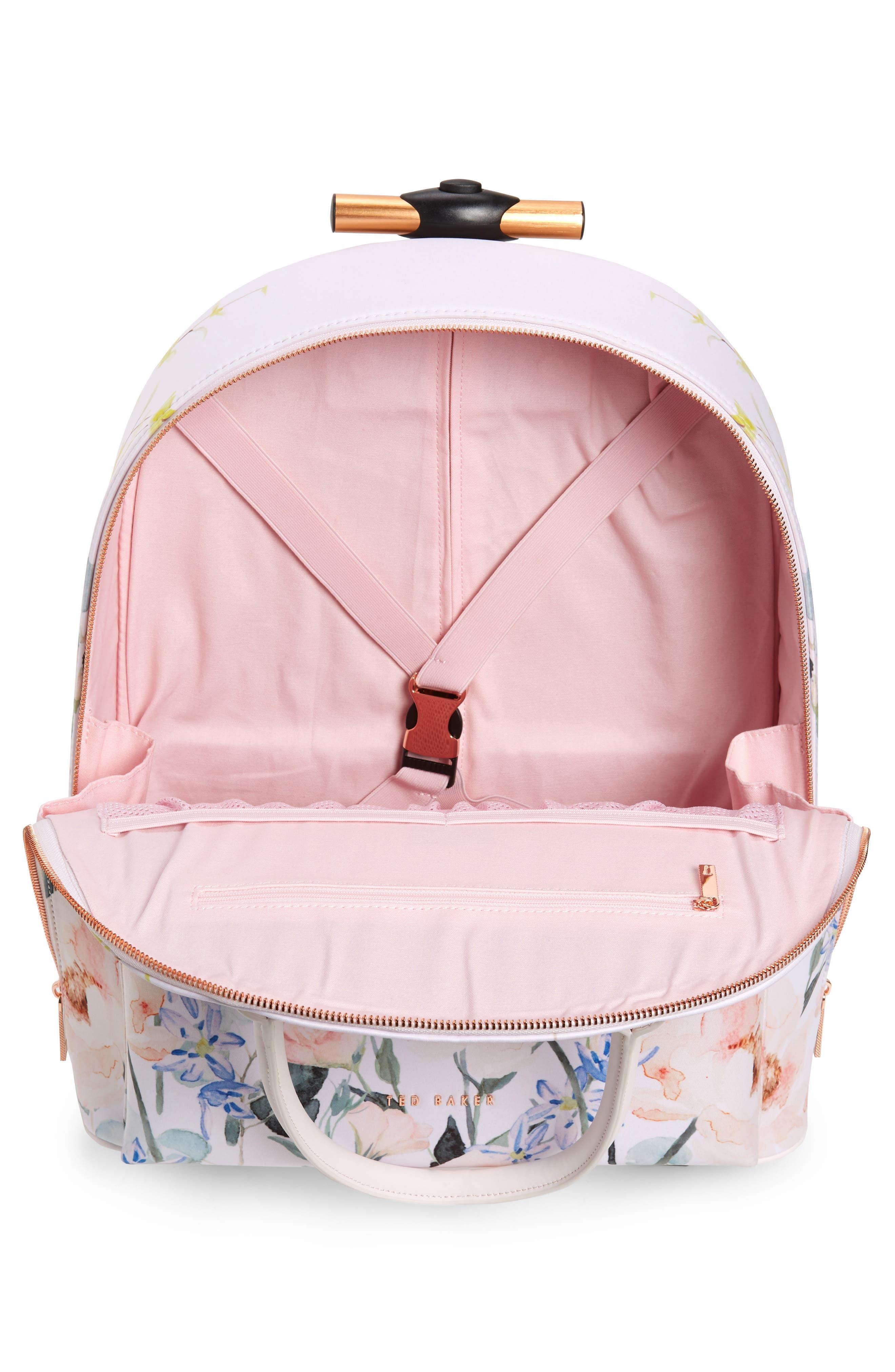 TED BAKER LONDON, Elianna Elegant Travel Bag, Alternate thumbnail 2, color, NUDE PINK