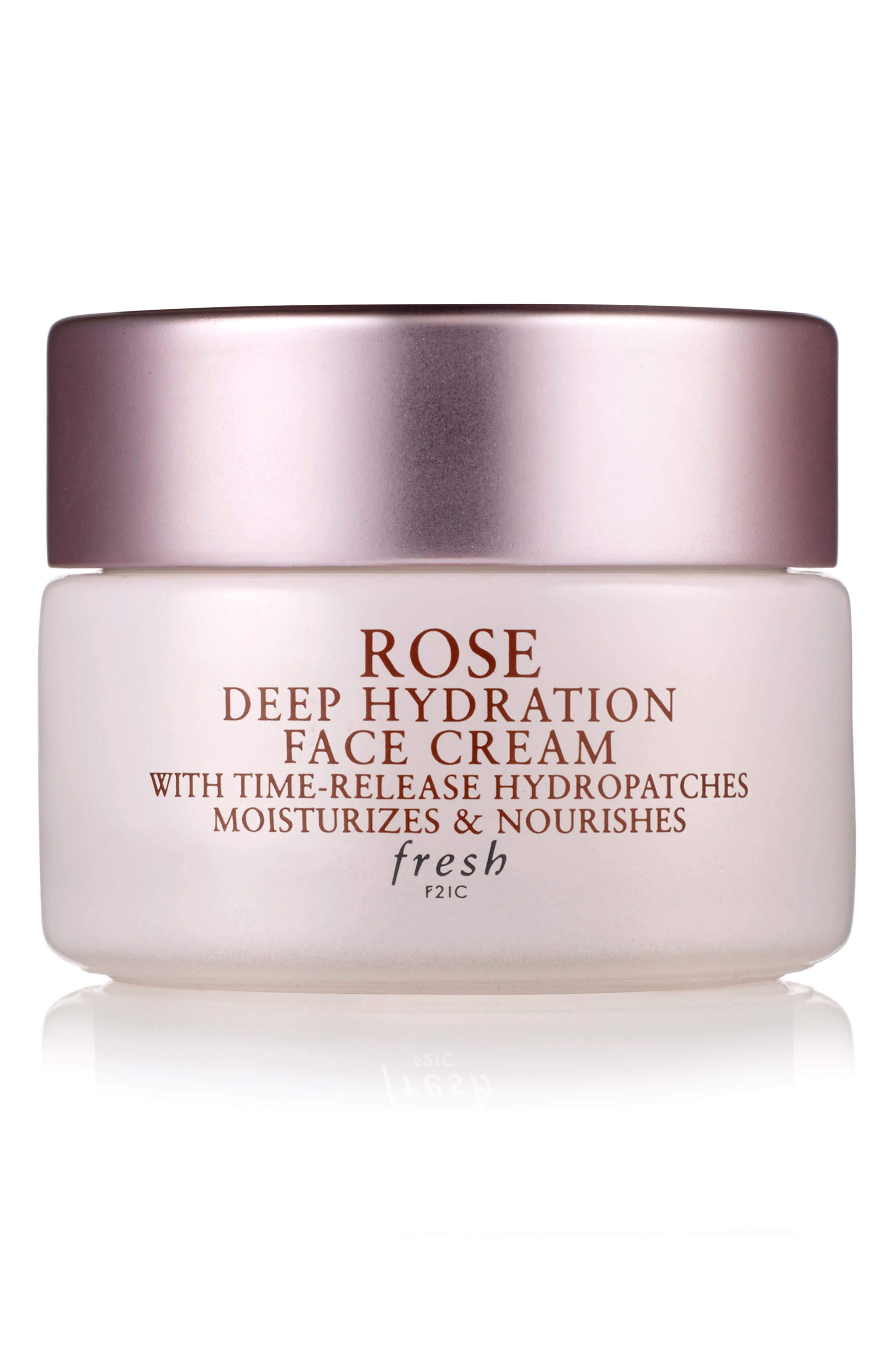 FRESH<SUP>®</SUP>, Rose Deep Hydration Face Cream, Main thumbnail 1, color, NO COLOR