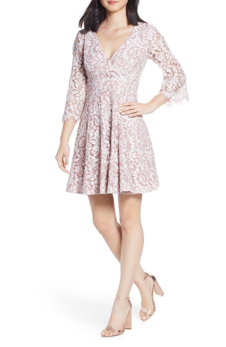 petite Fit & Flare Dress