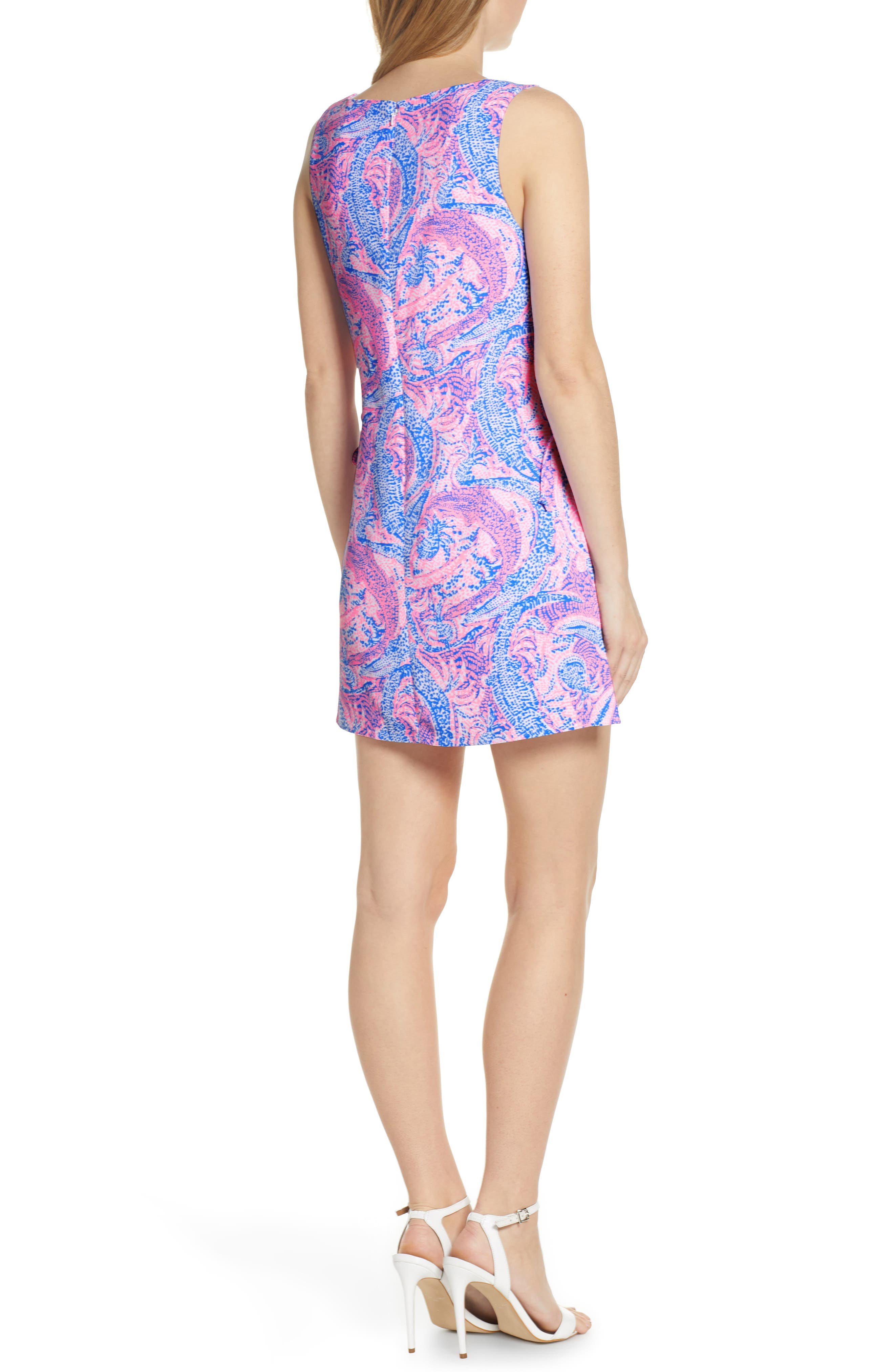 LILLY PULITZER<SUP>®</SUP>, Donna Romper Dress, Alternate thumbnail 2, color, COASTAL BLUE MAYBE GATO