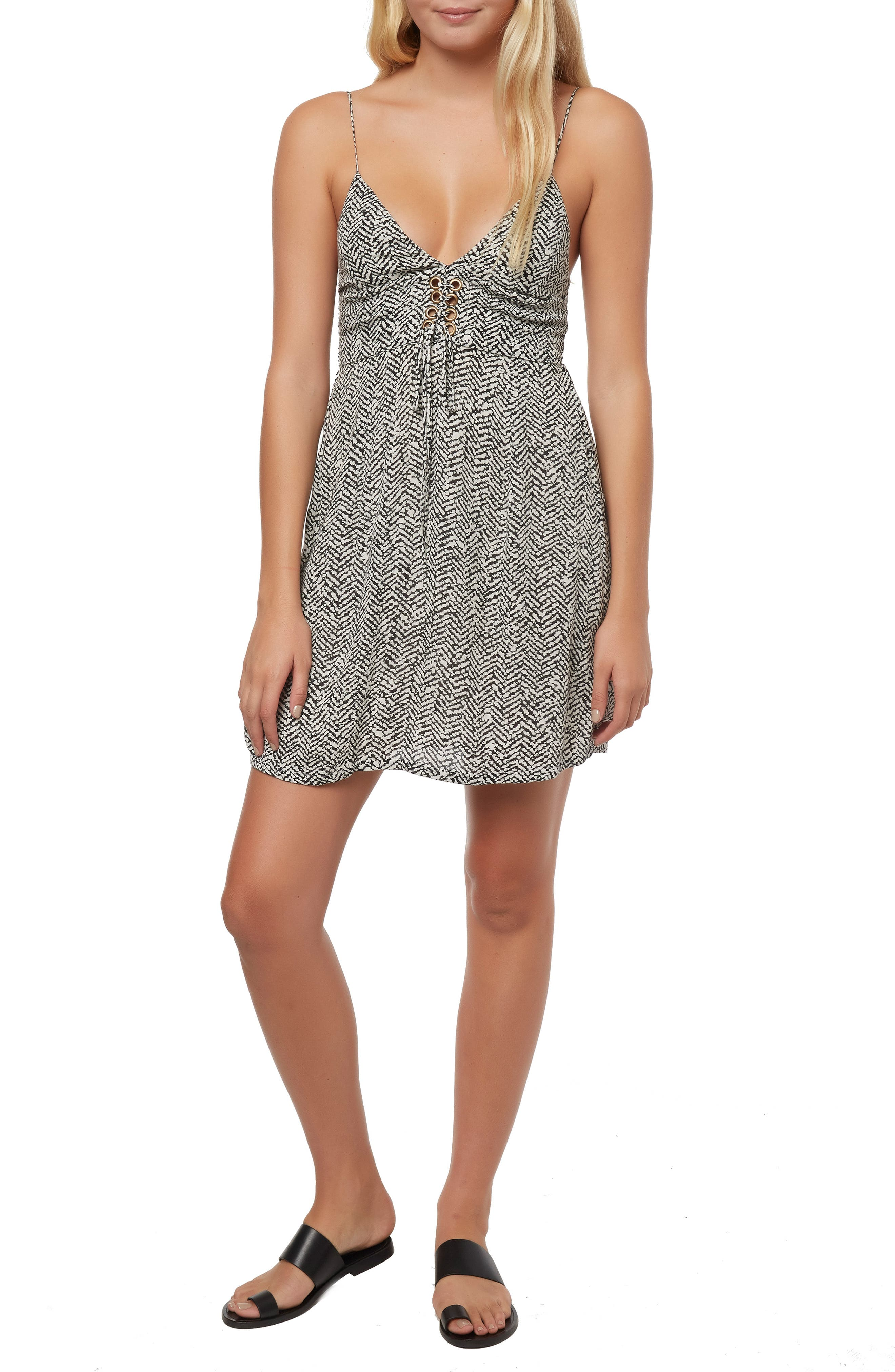 2c5f5e43aa O Neill Brida Lace-Up Dress