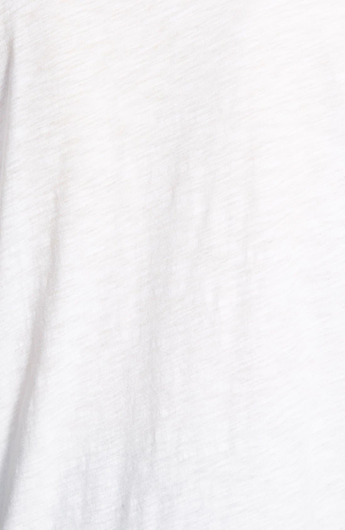 MADEWELL, Whisper Cotton V-Neck Pocket Tee, Alternate thumbnail 4, color, 100