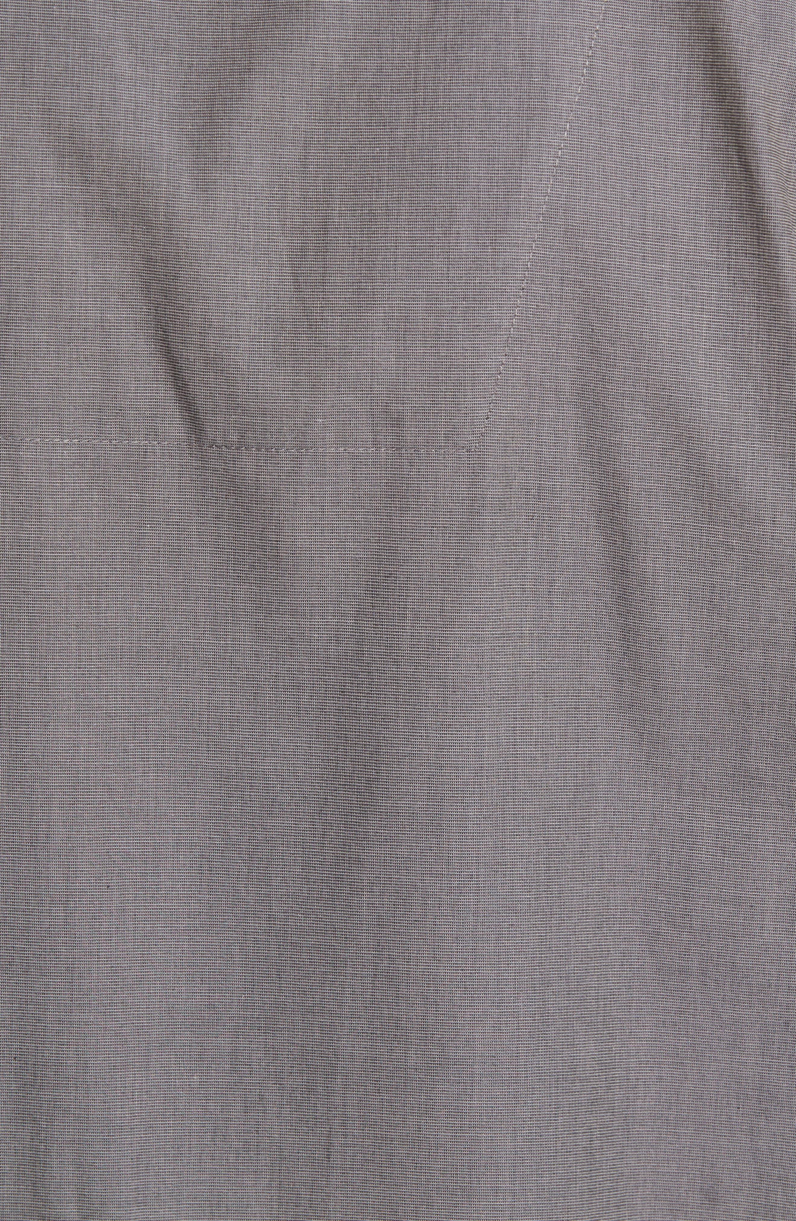 MAJESTIC INTERNATIONAL, Cotton Short Pajamas, Alternate thumbnail 5, color, CHARCOAL