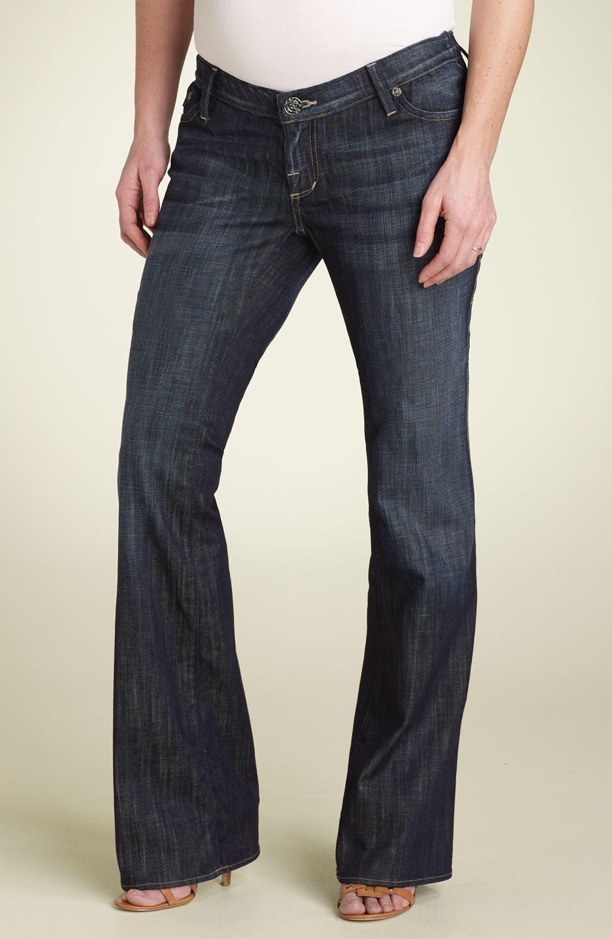 aa2865652e9cb Rock & Republic 'Tyler' Maternity Stretch Jeans (Amethyst Blue) | Nordstrom
