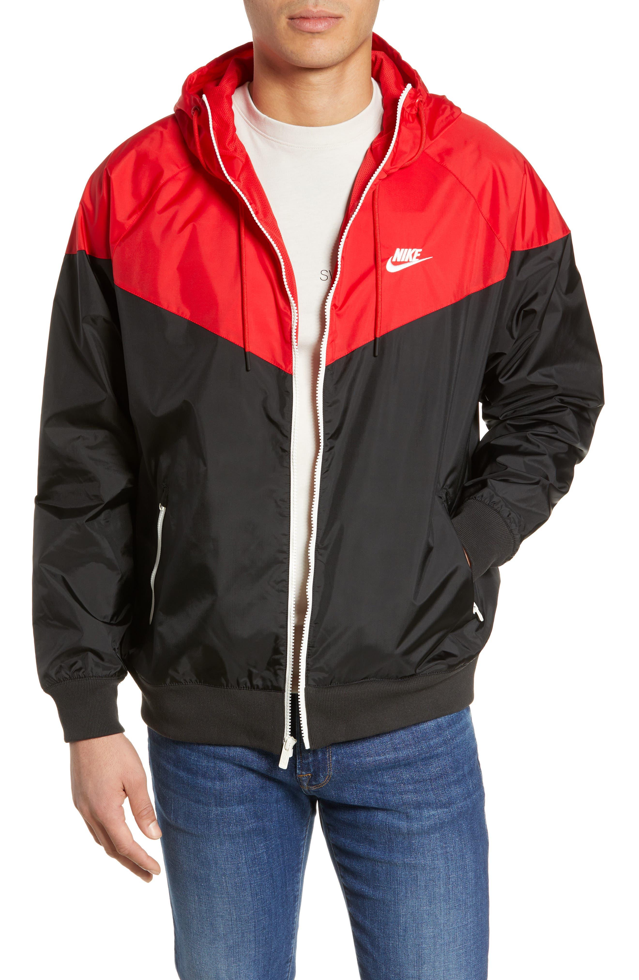 NIKE, Sportswear Windrunner Jacket, Main thumbnail 1, color, 011