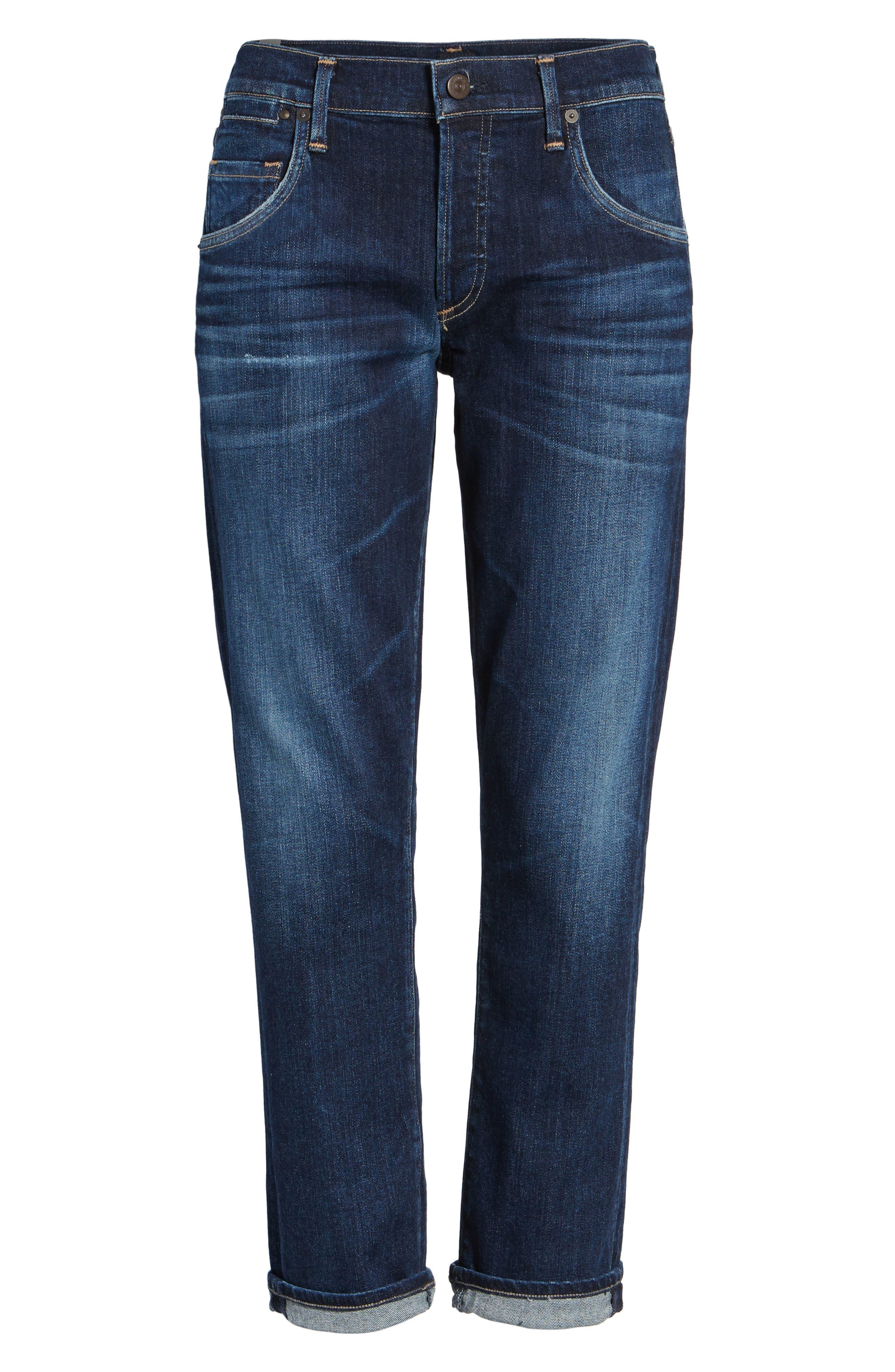 CITIZENS OF HUMANITY, Emerson Slim Boyfriend Jeans, Main thumbnail 1, color, BLUE RIDGE
