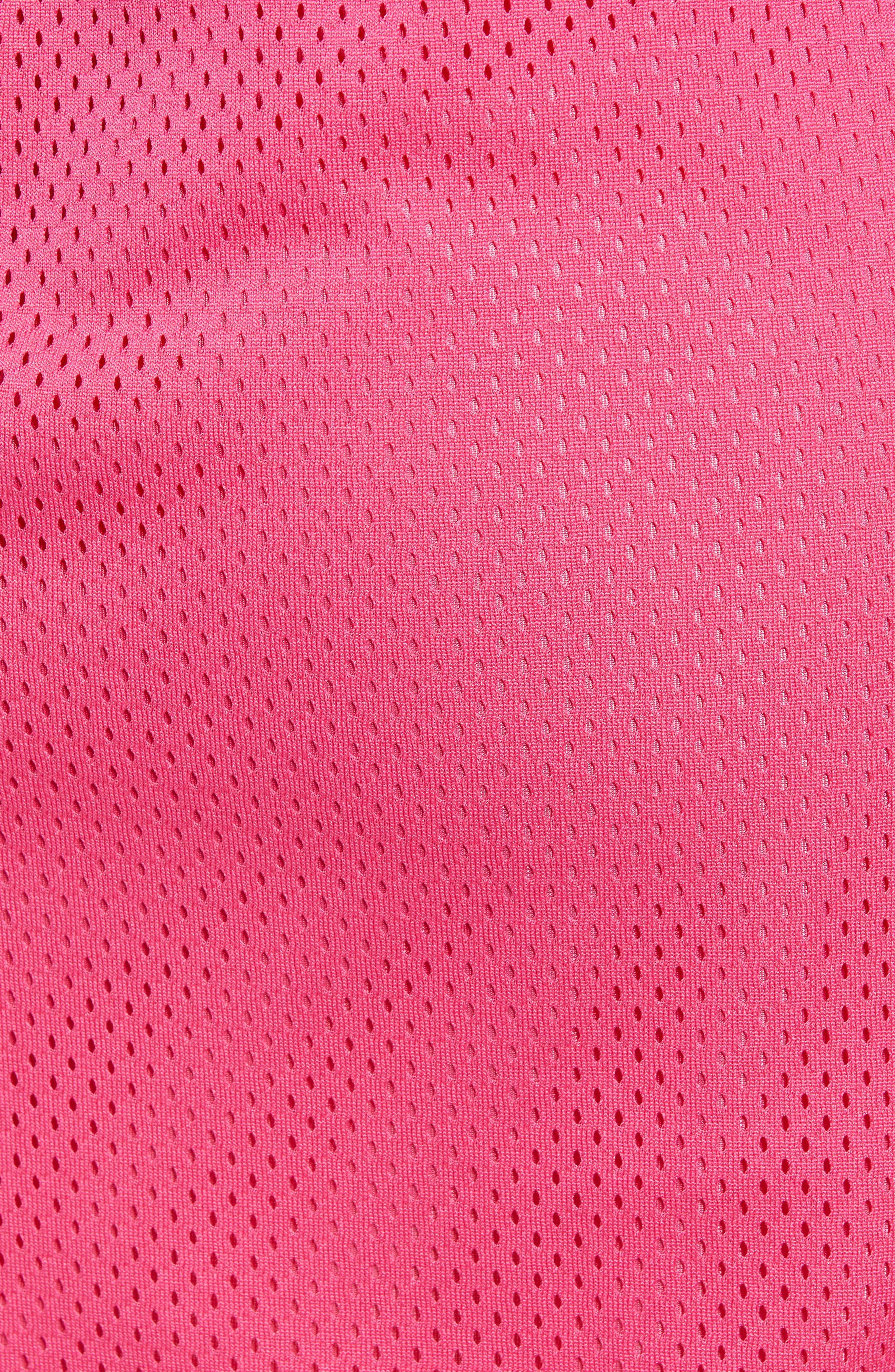 FILA, Miriam Tearaway Miniskirt, Alternate thumbnail 6, color, FUCHSIA PURPLE/ GRAPE/ GREEN