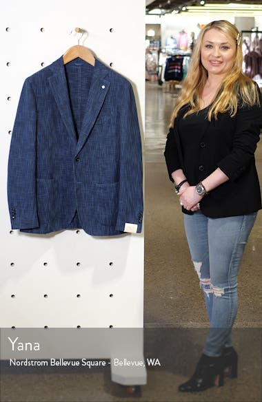 Trim Fit Cotton Blend Sport Coat, sales video thumbnail