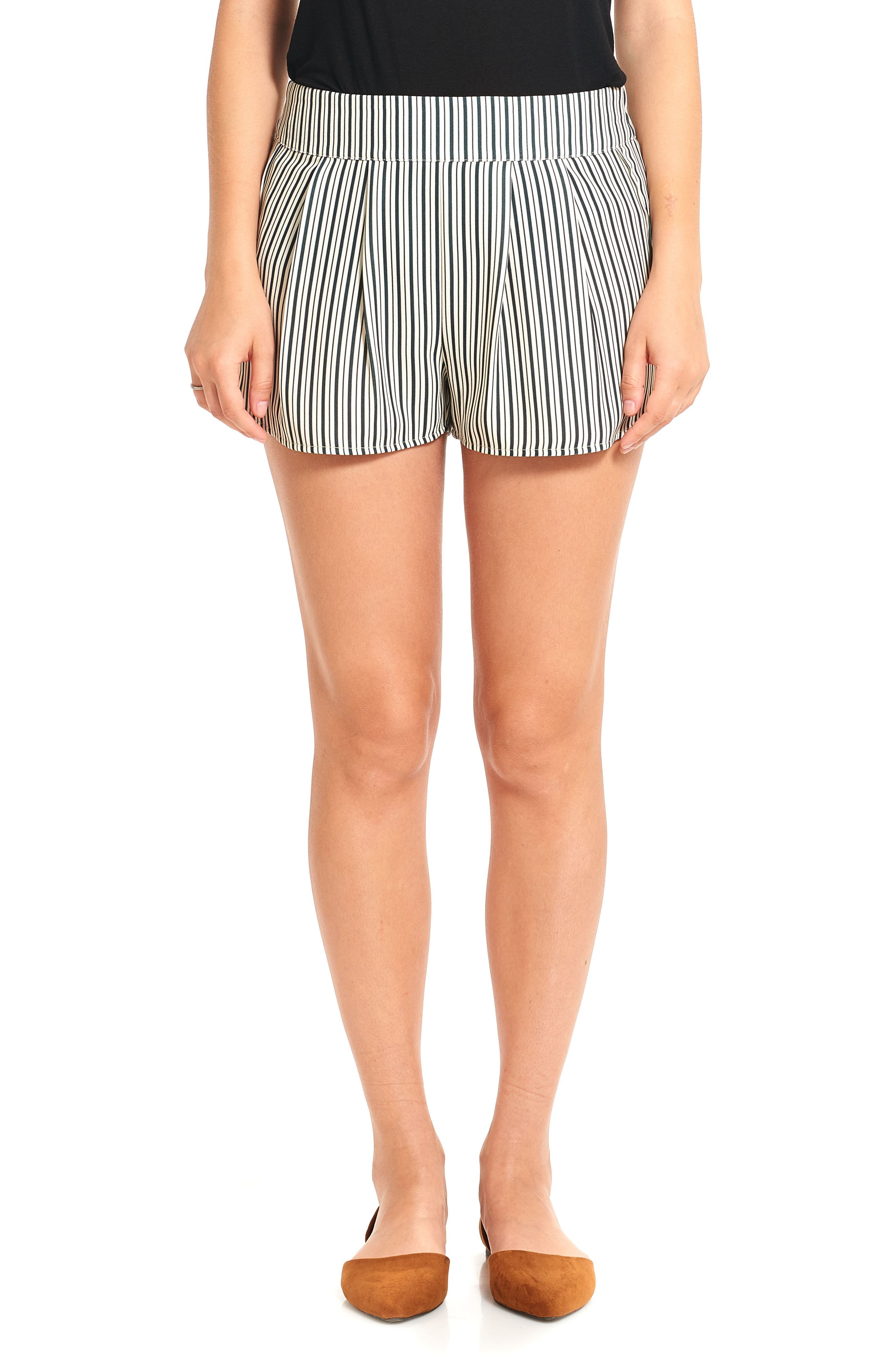 THIEVES LIKE US Stripe Running Shorts, Main, color, 001