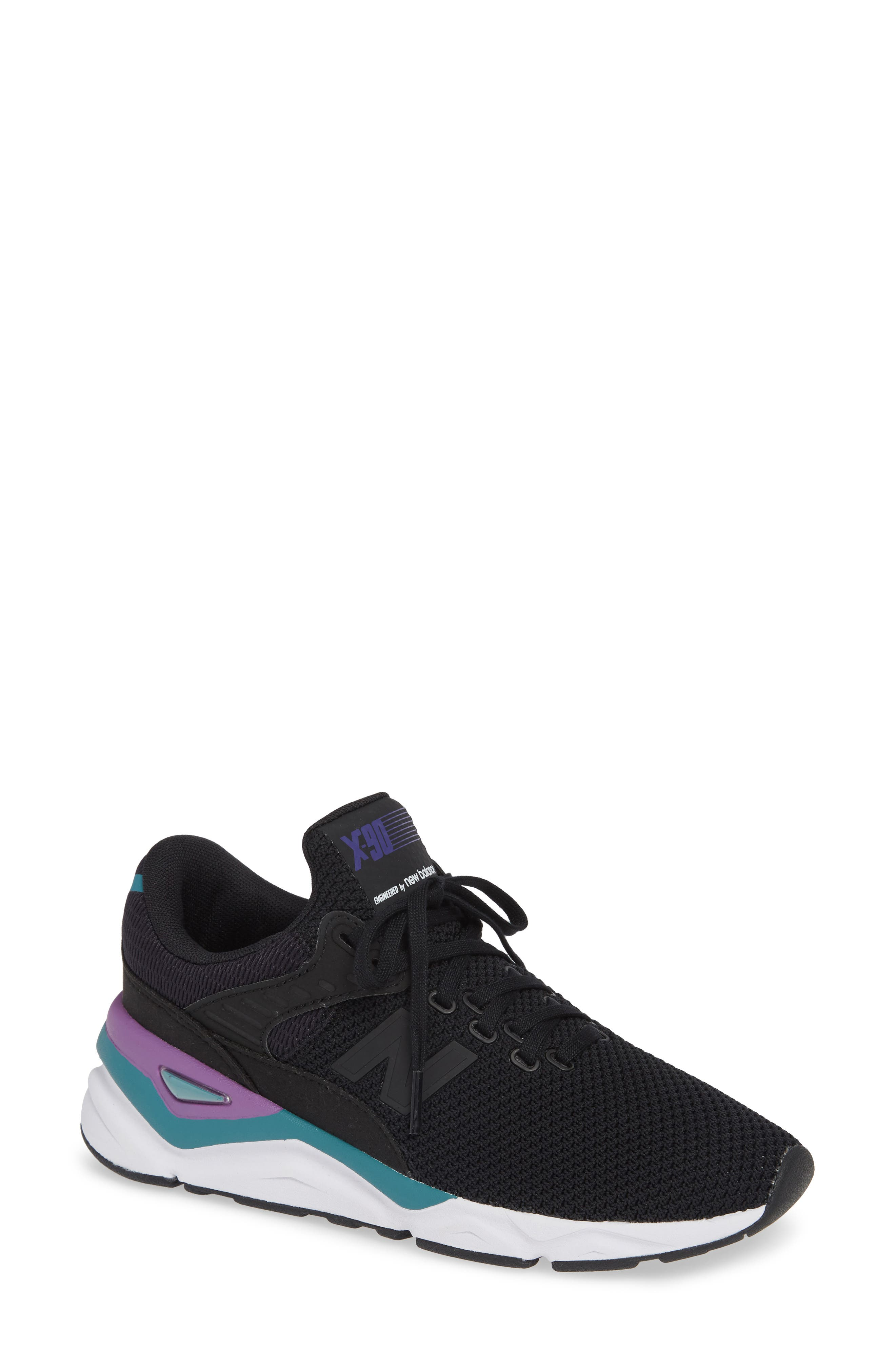 NEW BALANCE, X-90 Sneaker, Main thumbnail 1, color, PHANTOM