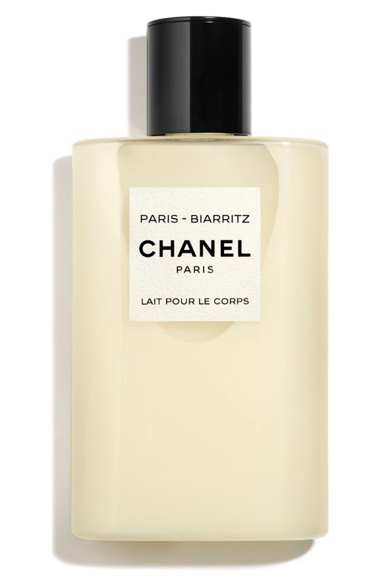 CHANEL, LES EAUX DE CHANEL PARIS-BIARRITZ<br />Perfumed Body Lotion, Main thumbnail 1, color, NO COLOR