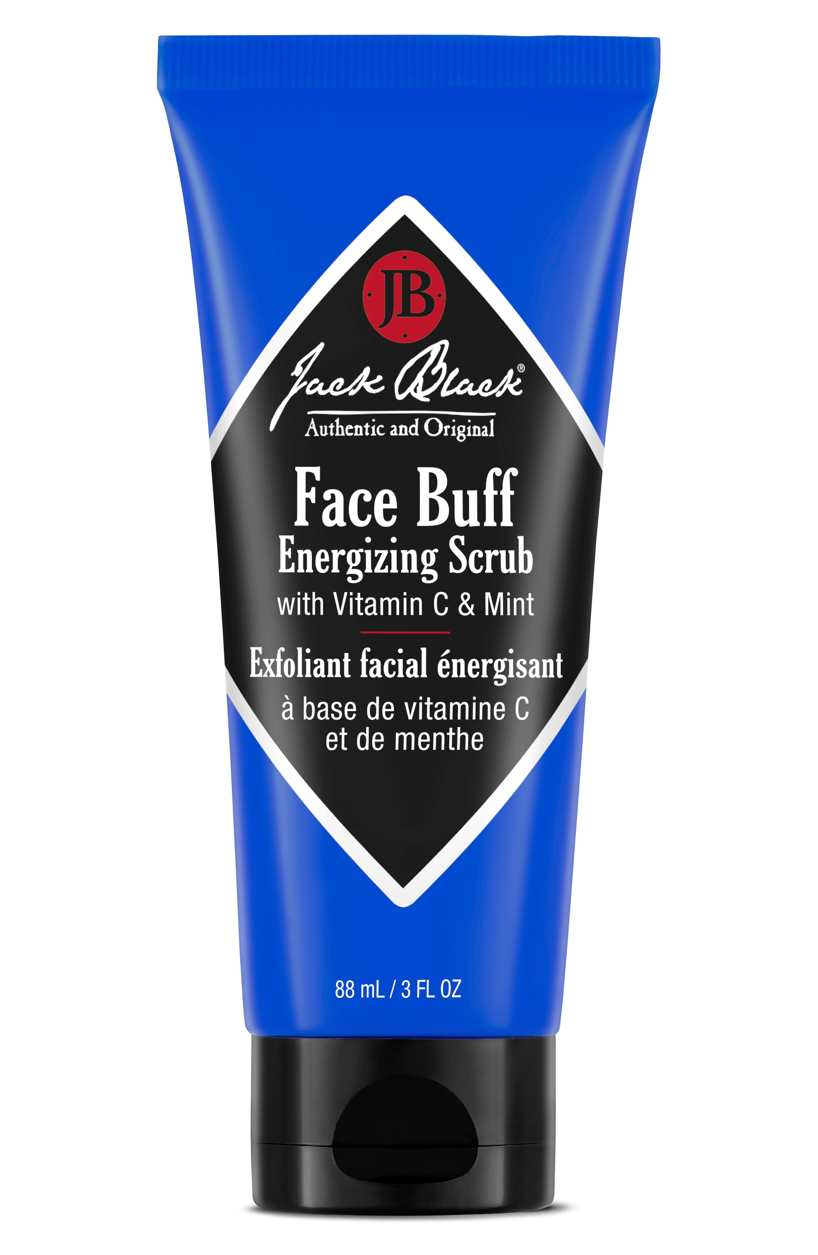 JACK BLACK, Face Buff Energizing Scrub, Main thumbnail 1, color, NO COLOR