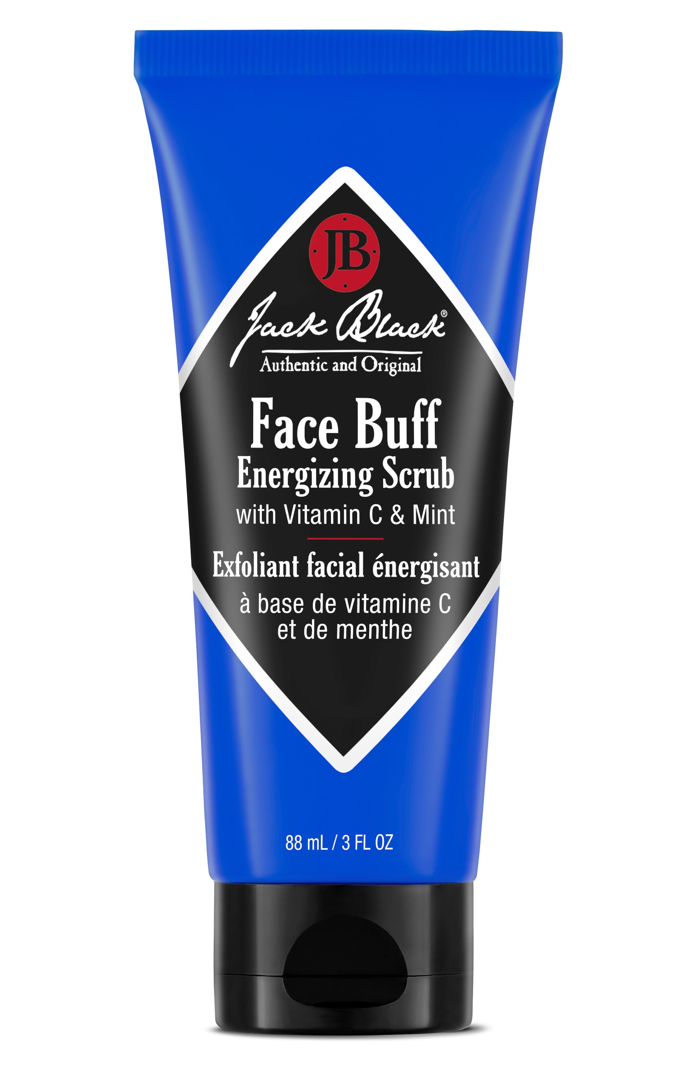 JACK BLACK Face Buff Energizing Scrub, Main, color, NO COLOR