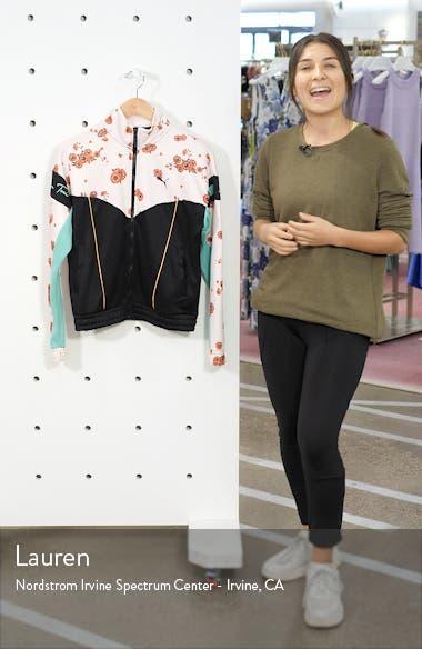 x Sue Tsai XTG Floral Track Jacket, sales video thumbnail