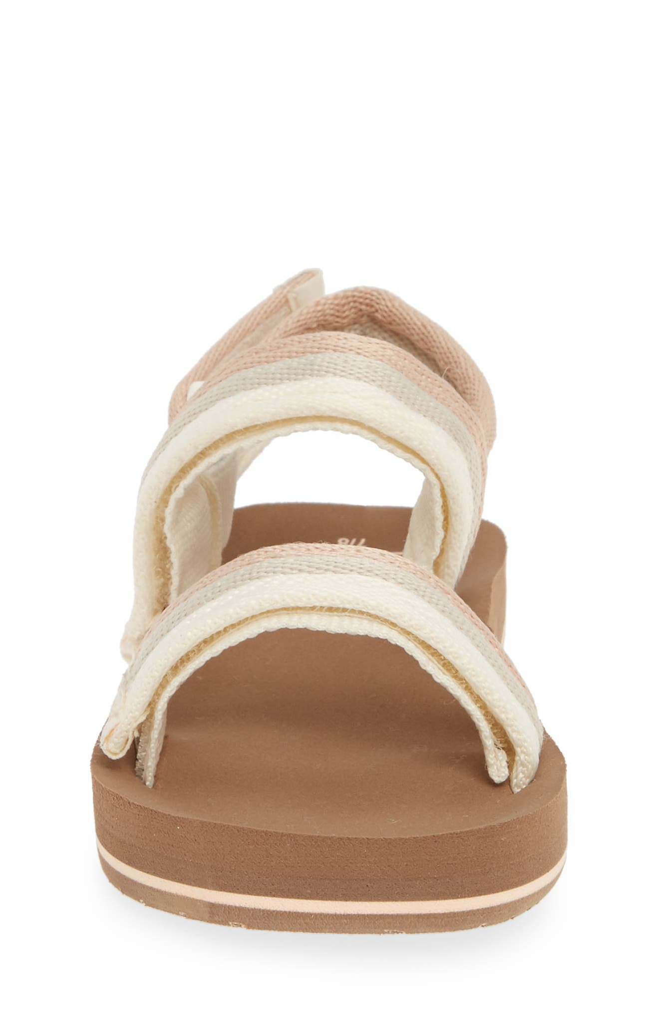 REEF, Little Ahi Convertible Sandal, Alternate thumbnail 4, color, SANDY TOES