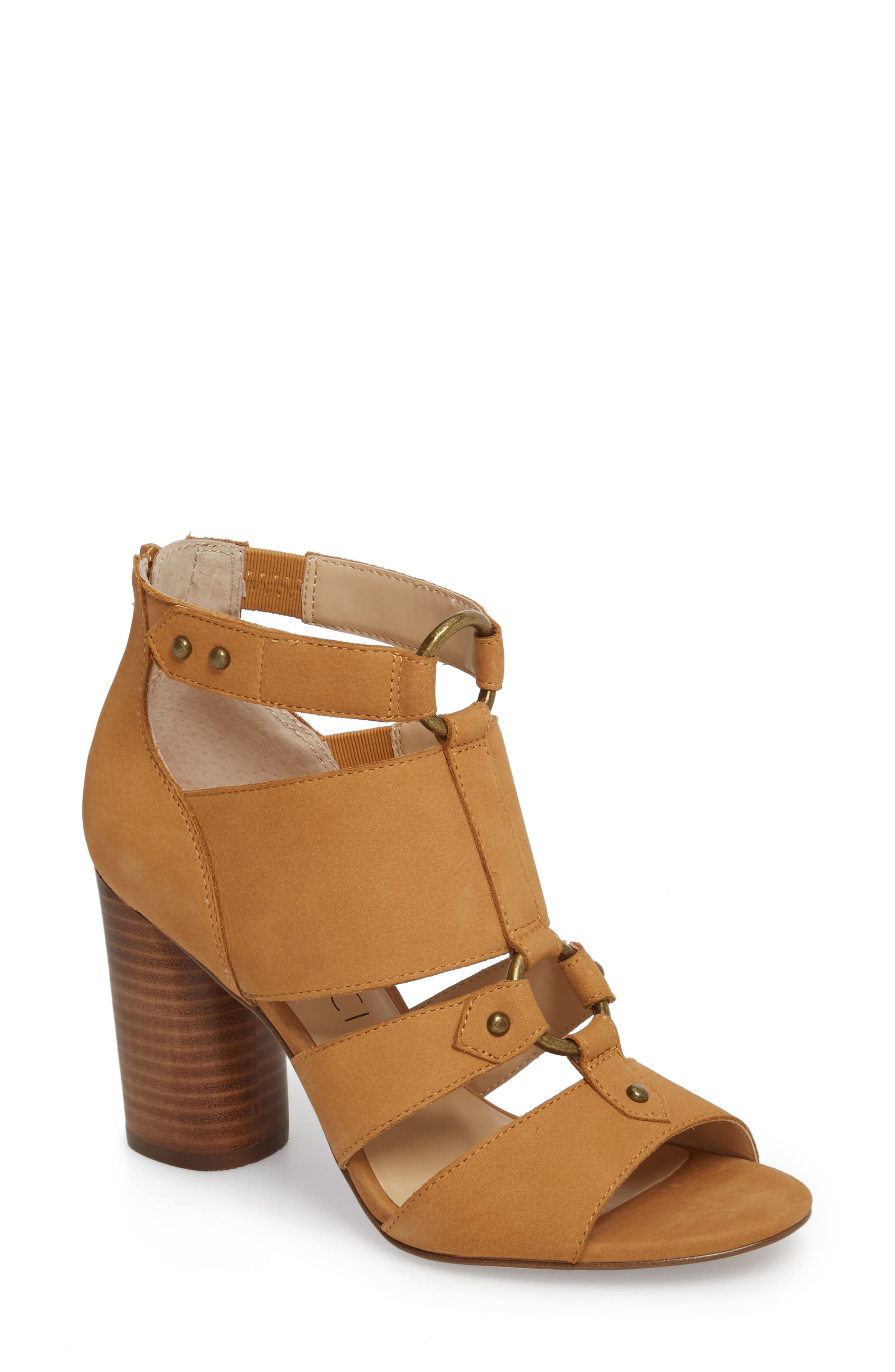 Sole Society Sadey Cage Sandal, Brown