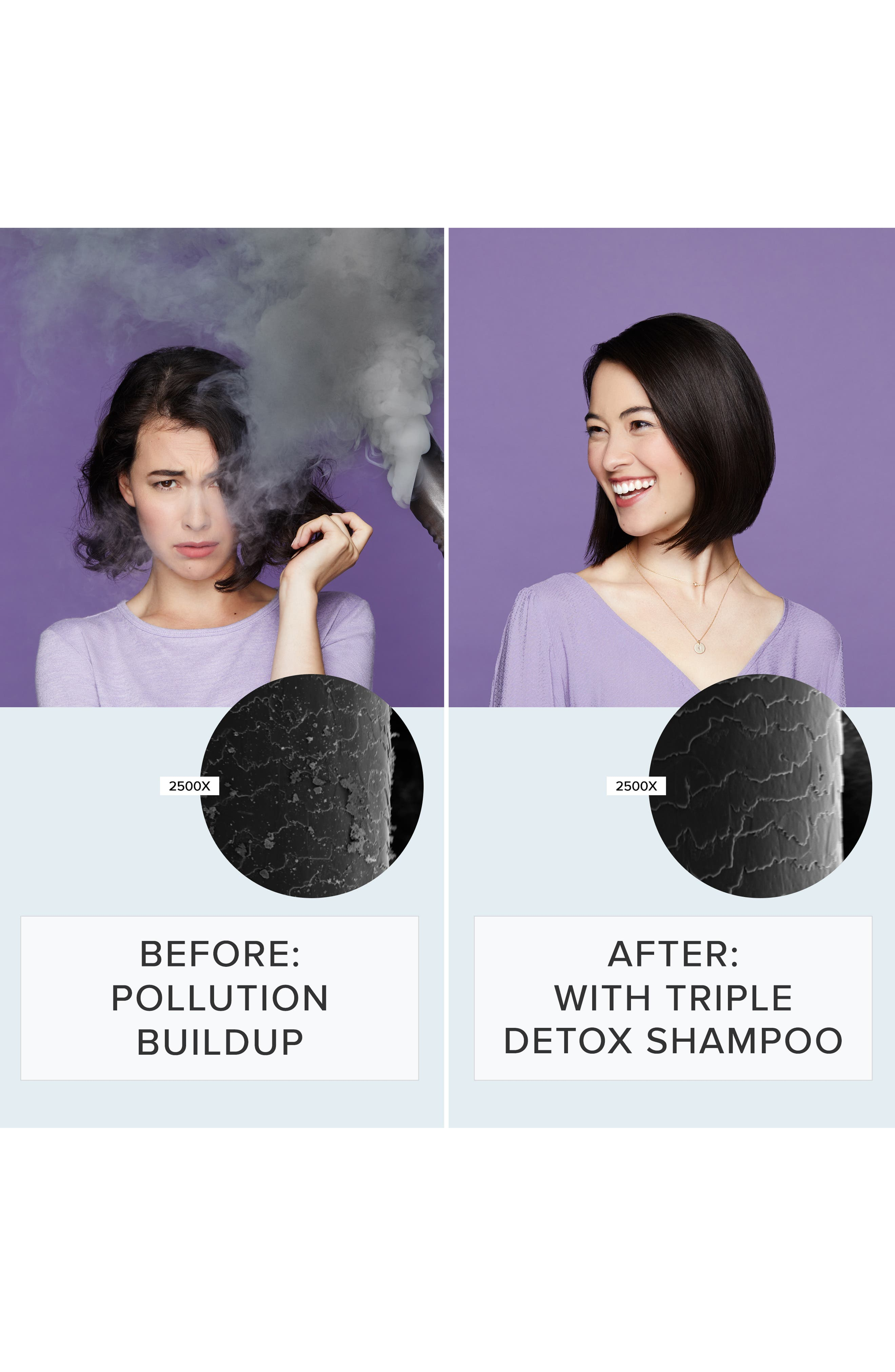 LIVING PROOF<SUP>®</SUP>, Perfect hair Day<sup>™</sup> Triple Detox Shampoo, Alternate thumbnail 4, color, NO COLOR