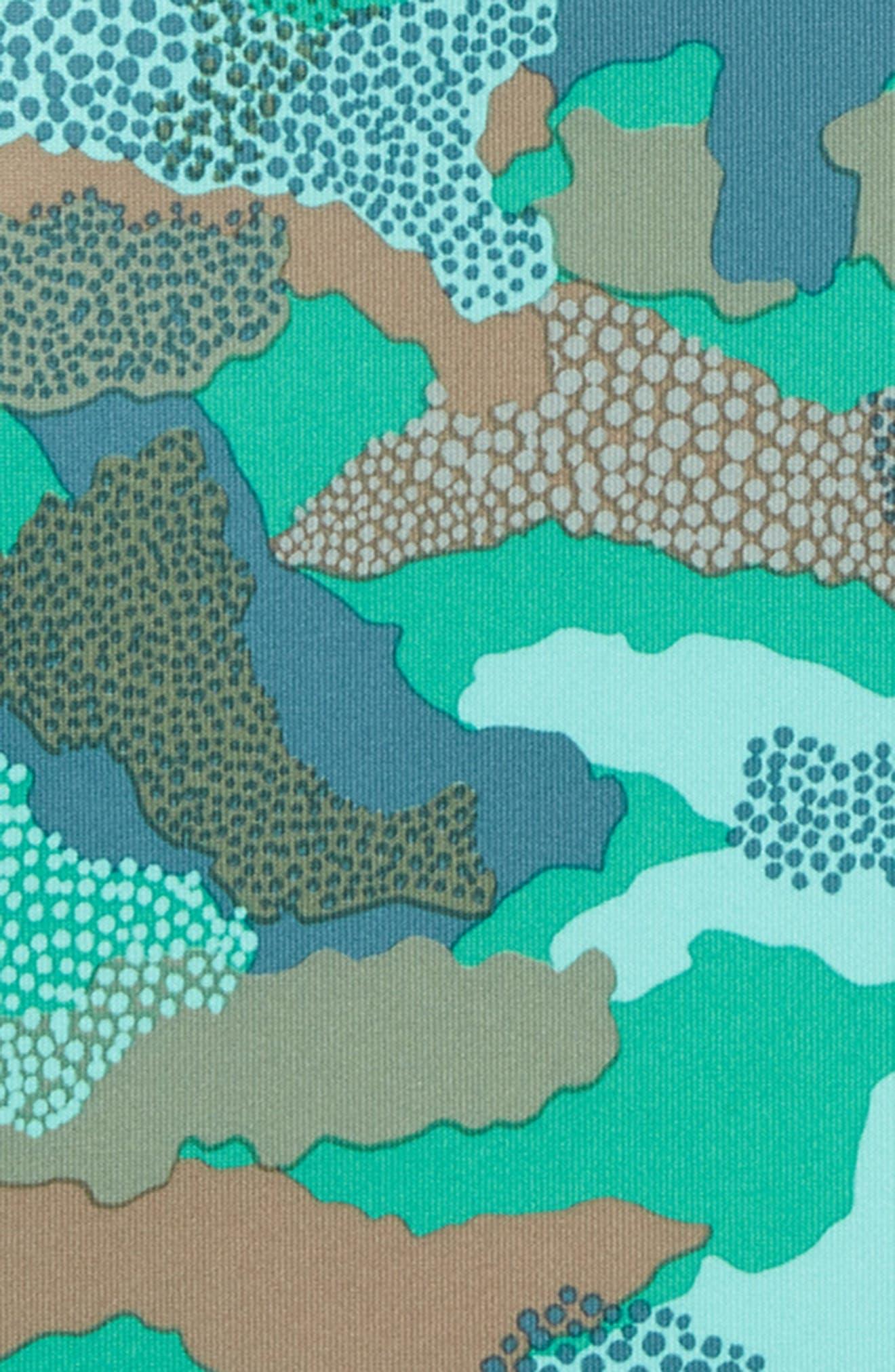 PATAGONIA, Capilene<sup>®</sup> Silkweight Sun Hoodie, Alternate thumbnail 2, color, MBVG MYRTLE BARK CAMO