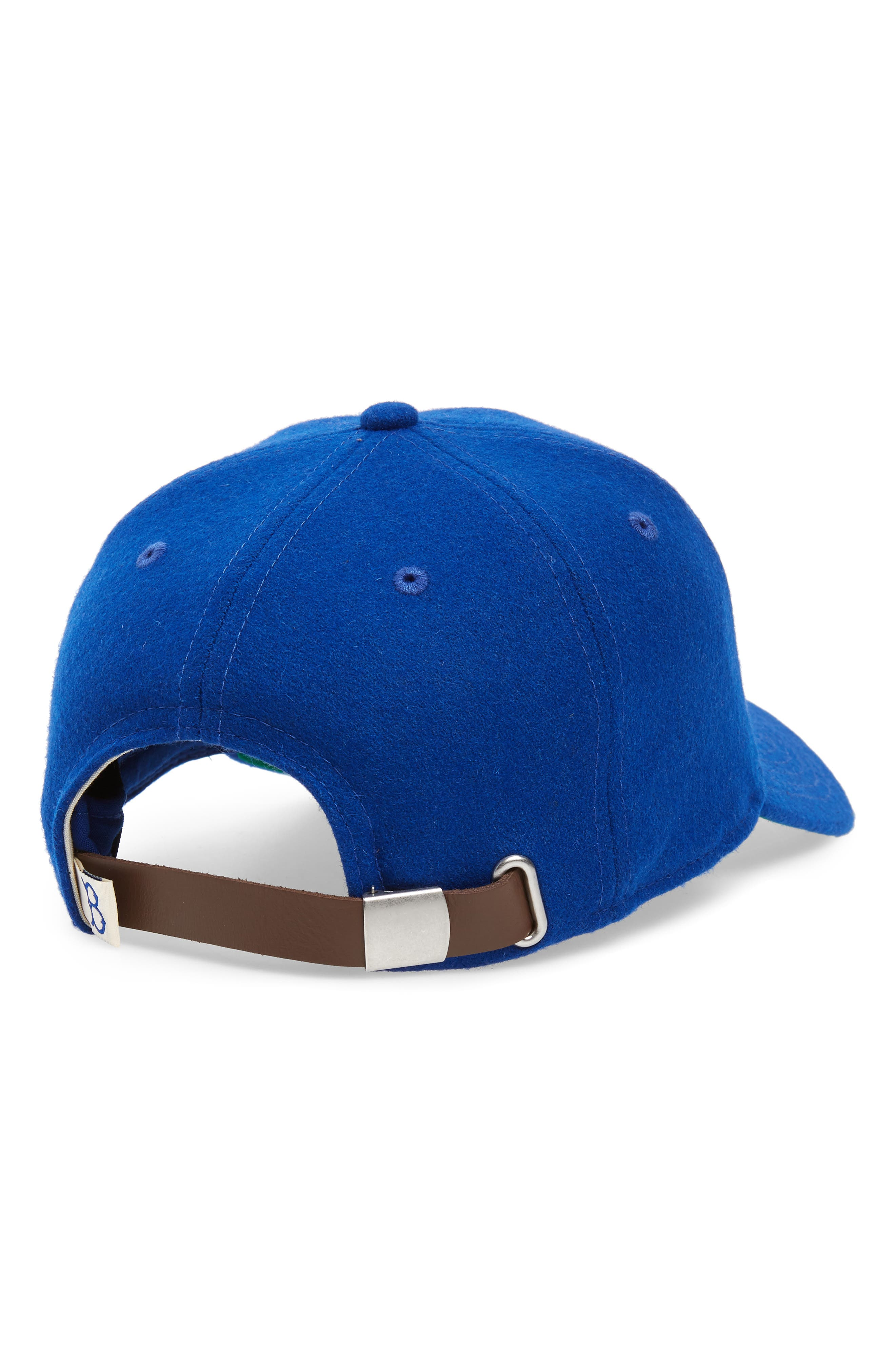 NEW ERA CAP, Jackie Robinson 42 9Twenty Wool Blend Baseball Cap, Alternate thumbnail 2, color, 400
