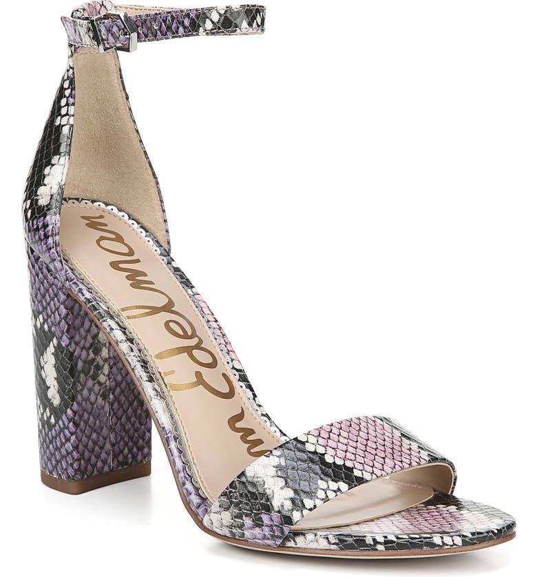 ab686c6c9ff6a5 Sam Edelman Yaro Ankle Strap Sandal (Women)