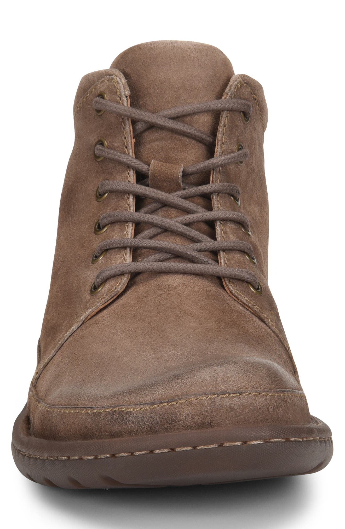 BØRN, Nigel Low Boot, Alternate thumbnail 4, color, TAUPE LEATHER