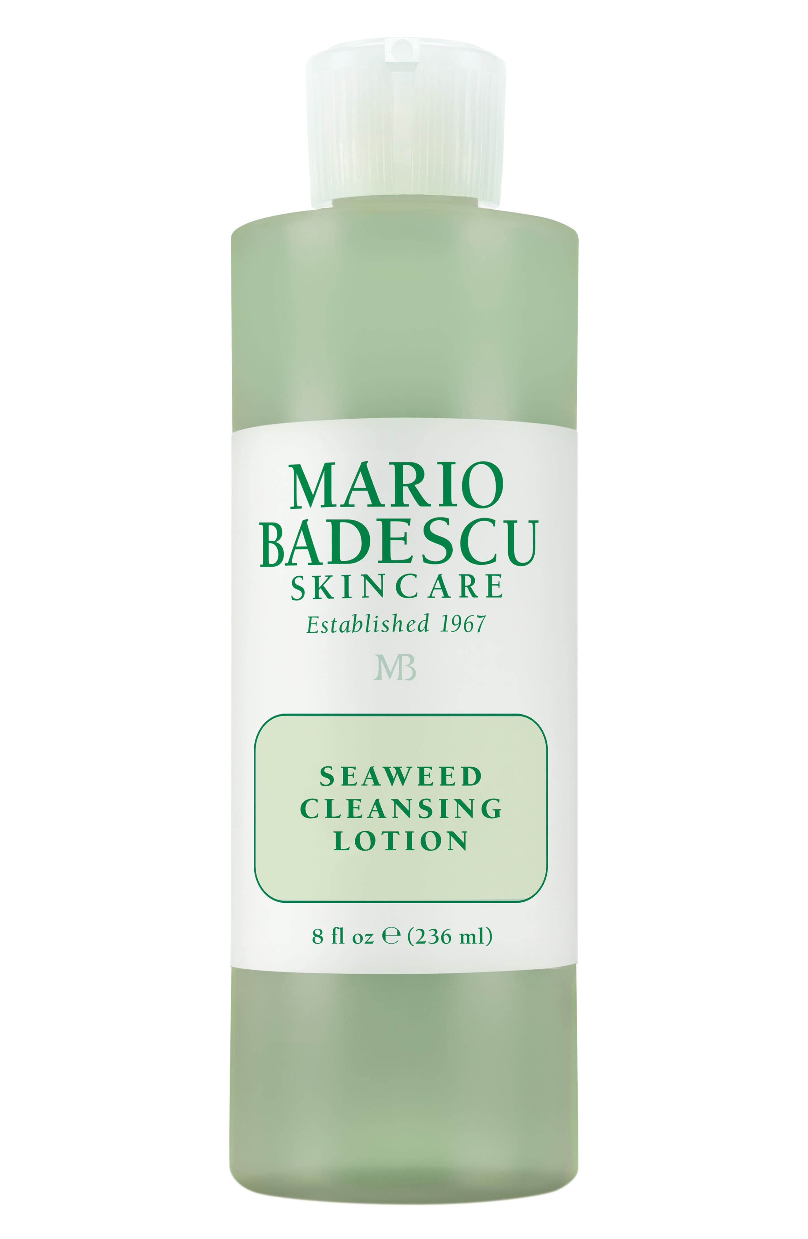 MARIO BADESCU Seaweed Cleansing Lotion, Main, color, NO COLOR