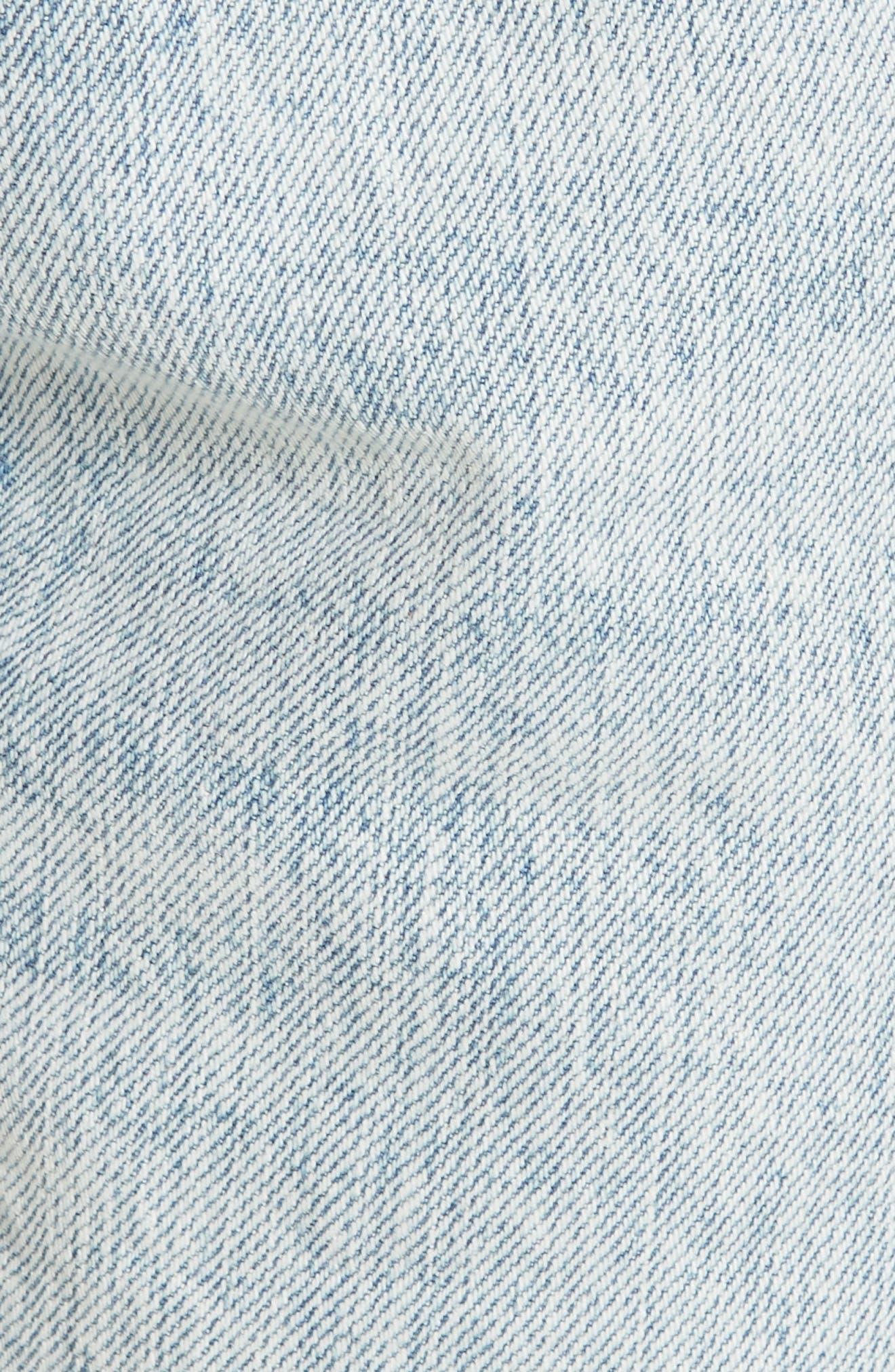 RAG & BONE, JEAN Cutoff Boyfriend Shorts, Alternate thumbnail 6, color, 420
